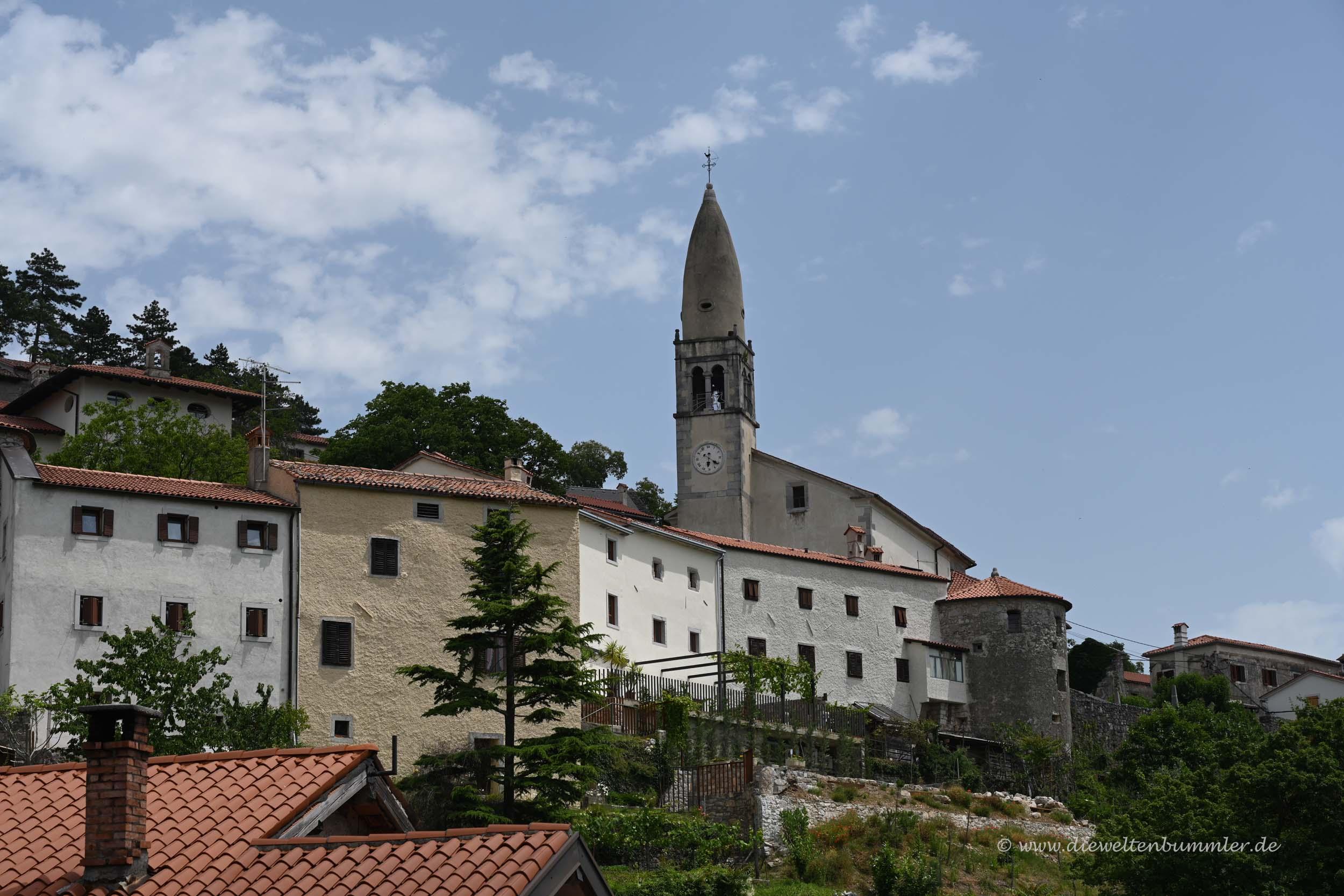 Mittelalterliches Dorf Stanjel
