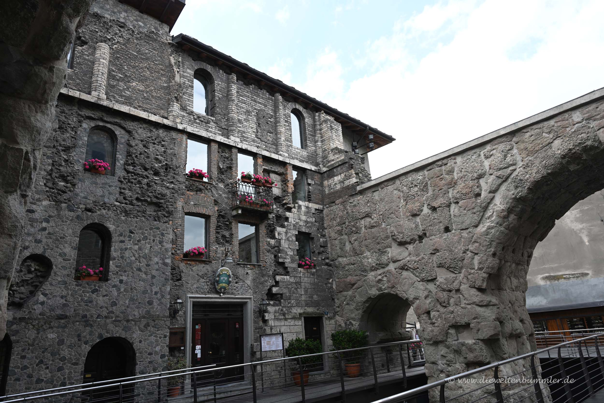 Römische Spuren in Aosta