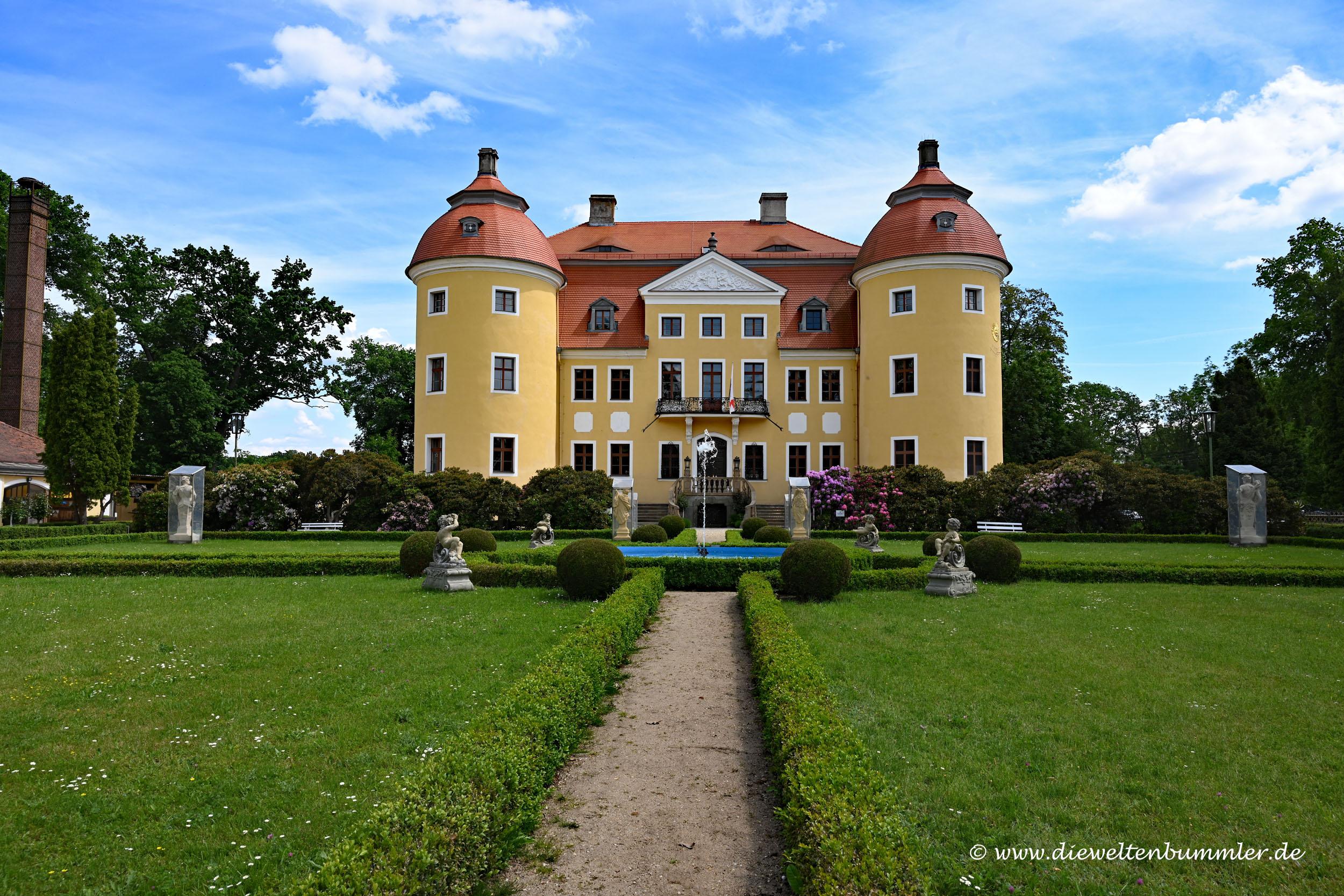 Schloss Milkel in Sachsen