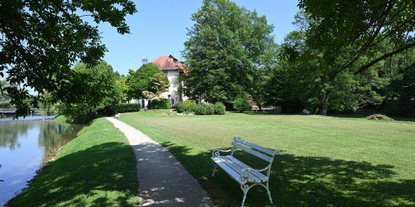 Schlosspark in Otocec
