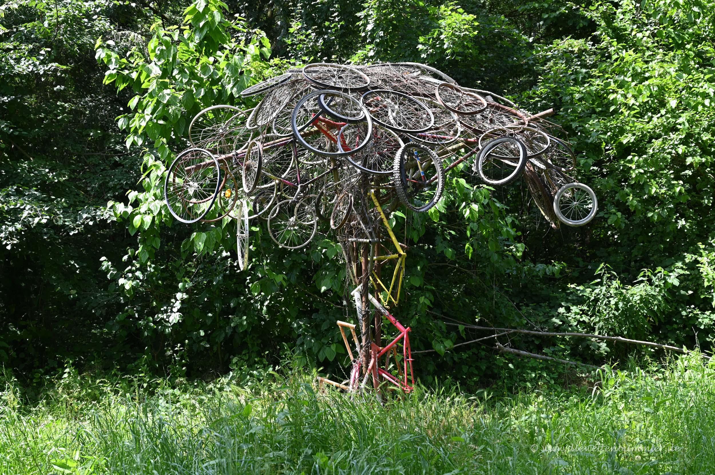 Skulptur oder Kunst