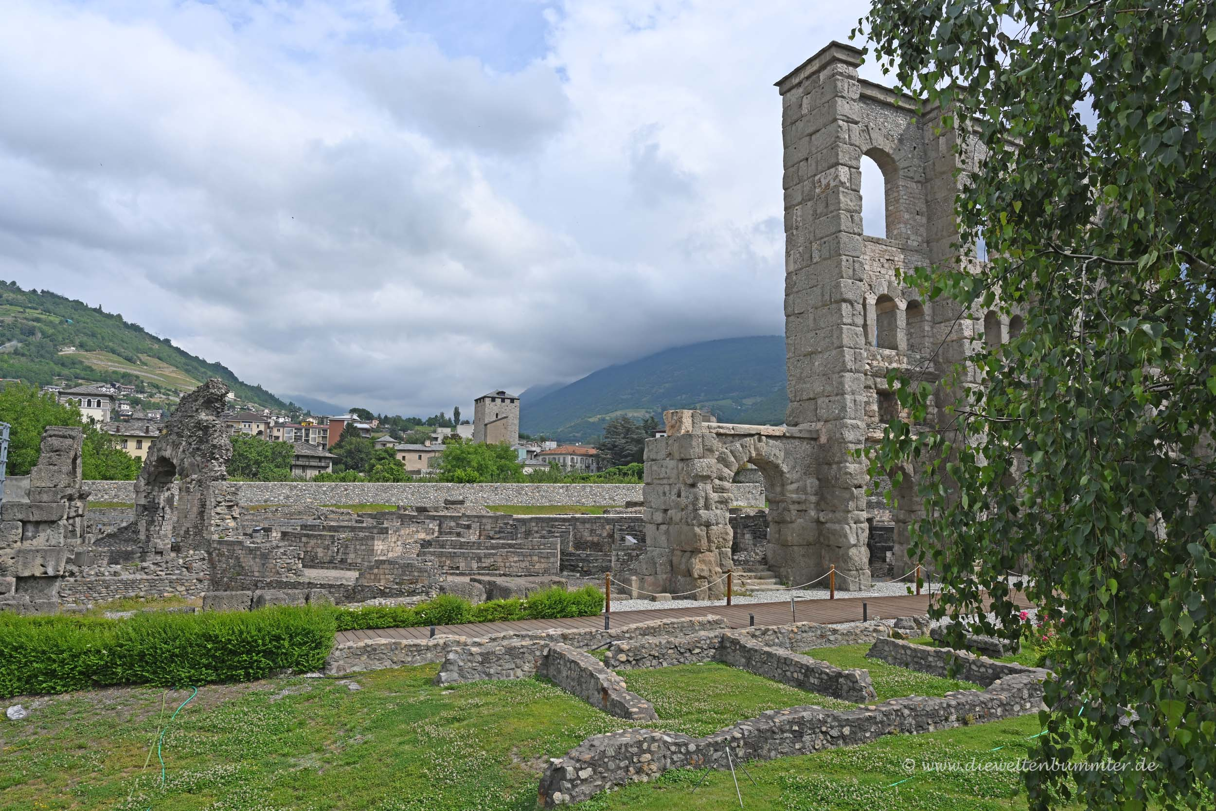 Teatro Romano in Aosta