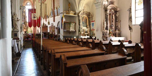 Ungewöhnliches Kirchenschiff