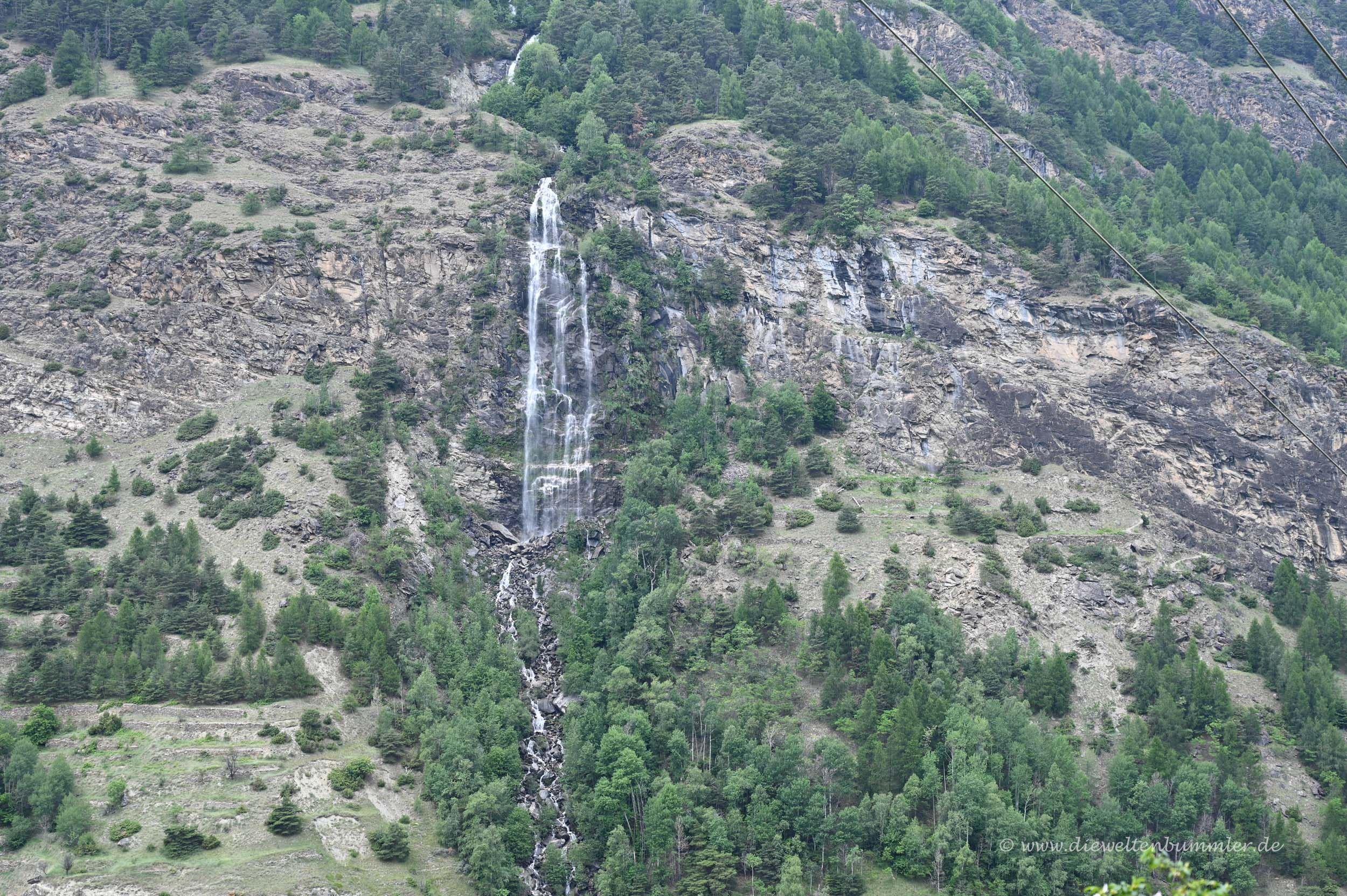 Wasserfall am Nationalpark