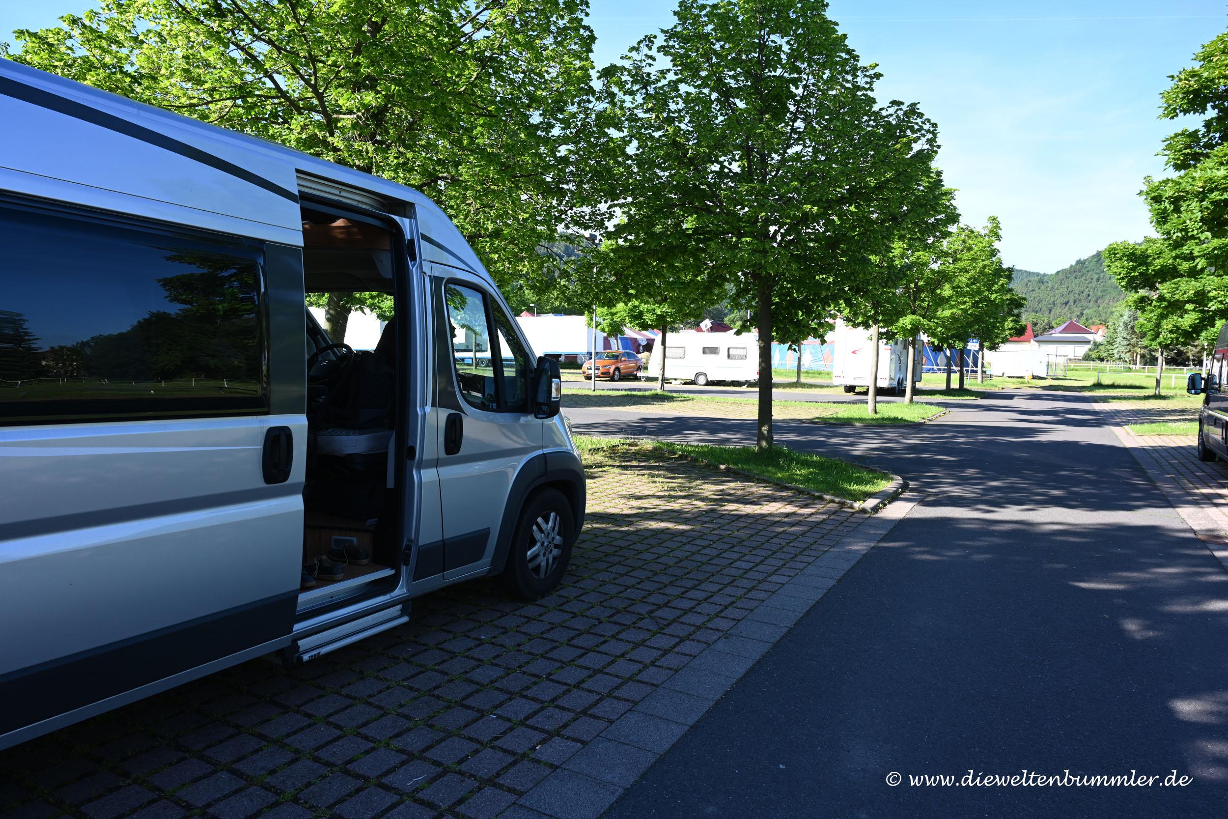 Wohnmobilstellplatz Bad Tabarz