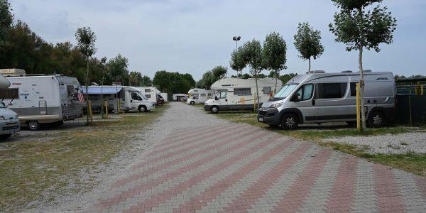 Wohnmobilstellplatz in Chioggia