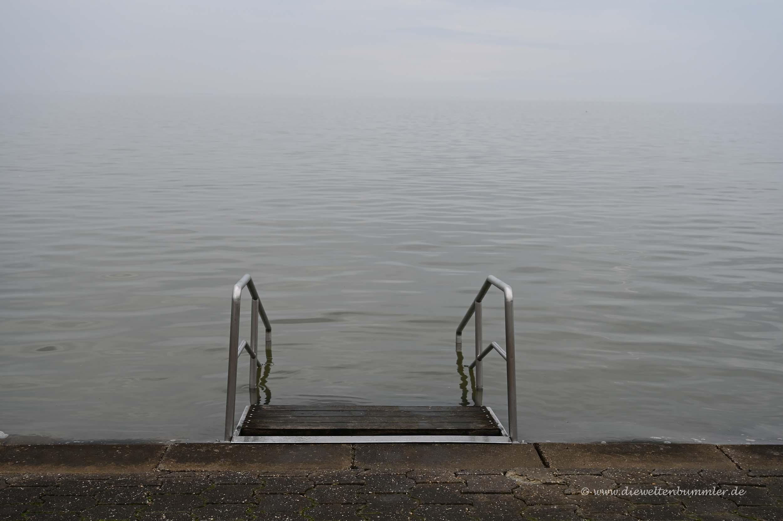 Sehr ruhige Nordsee