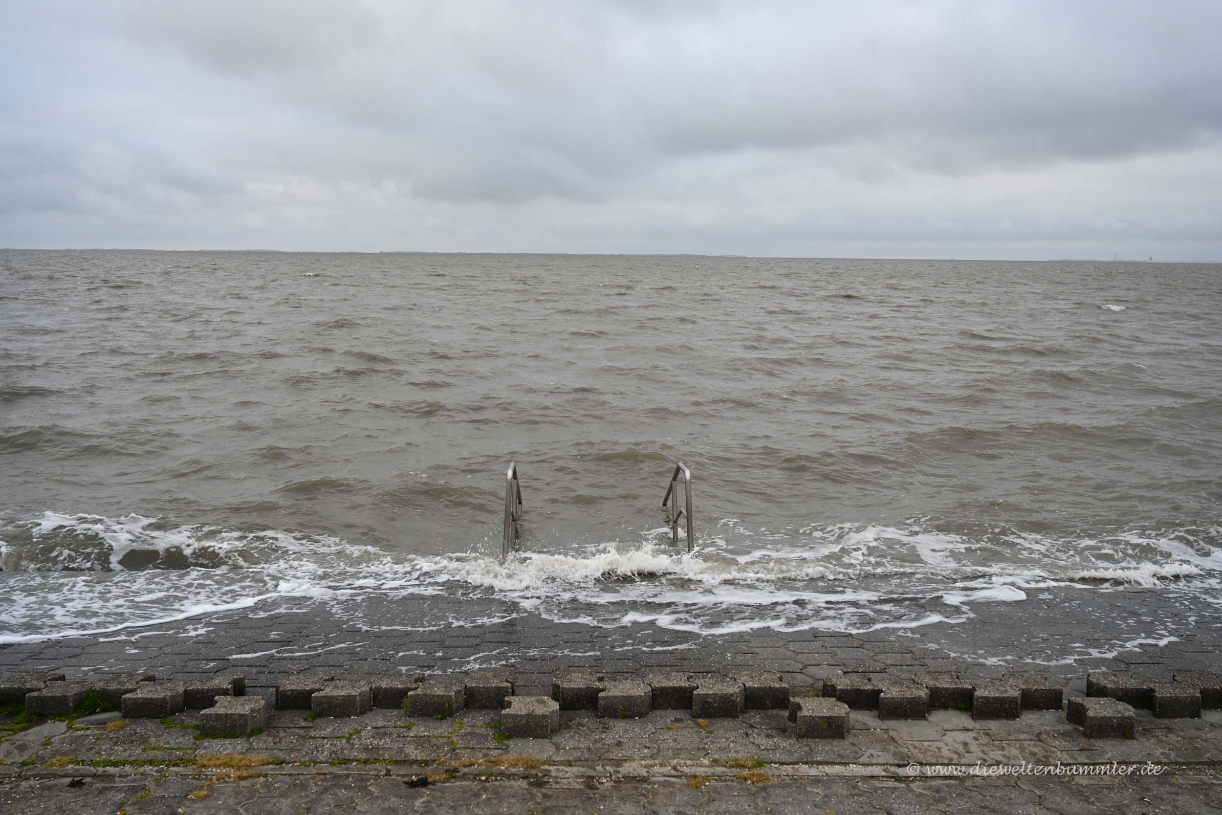 Sehr unruhige Nordsee