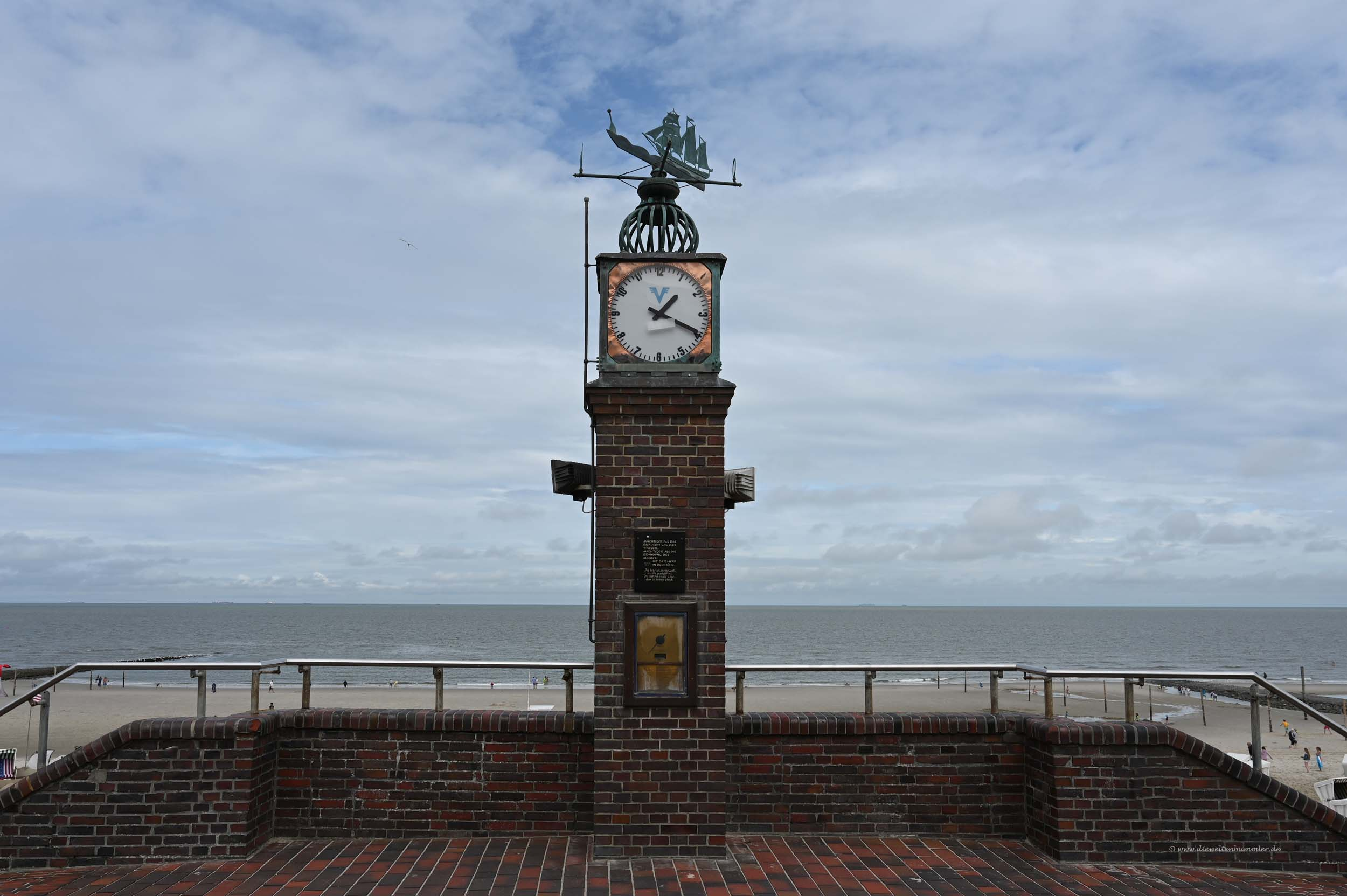 Uhr in Wangerooge