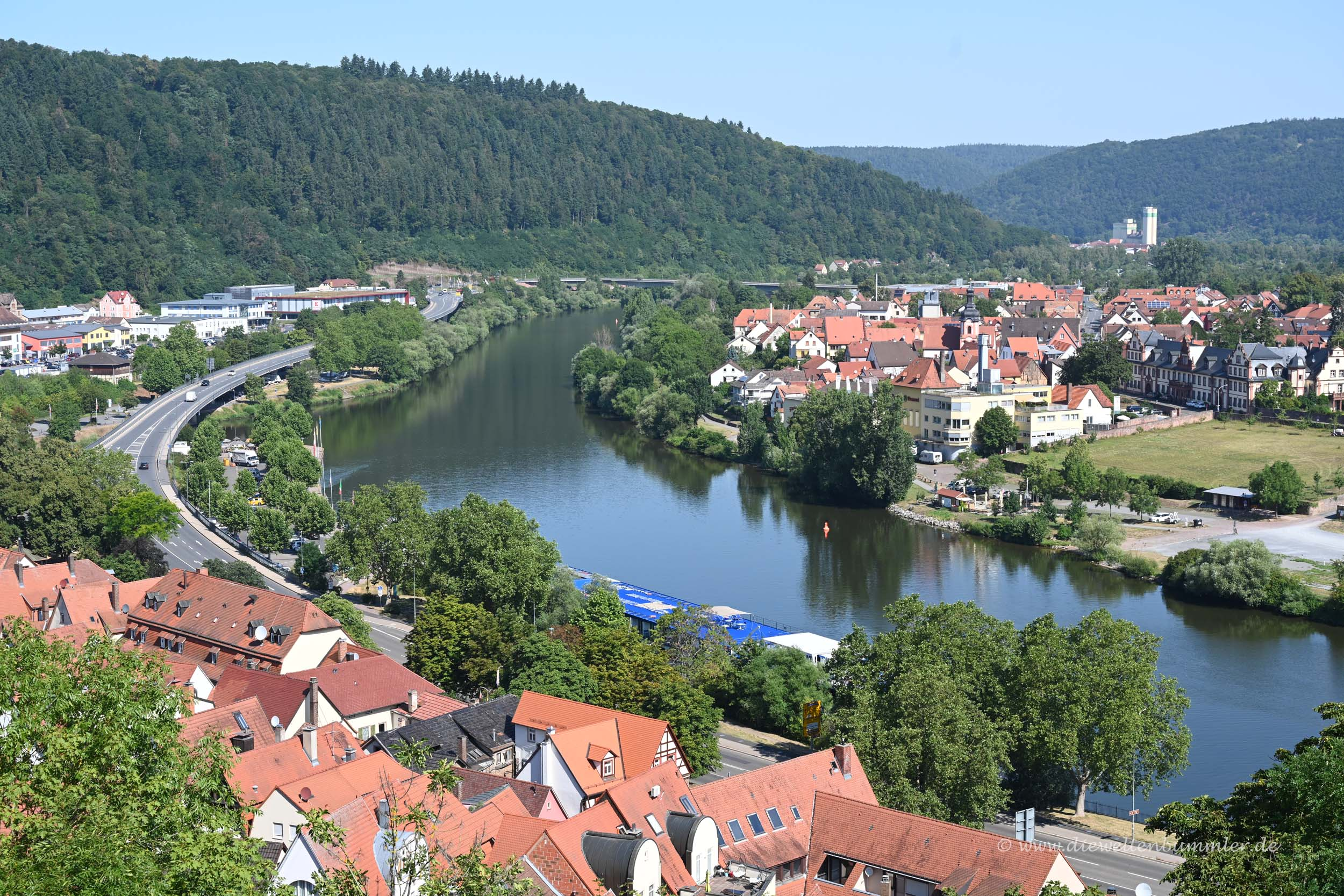 Blick auf den Main in Wertheim
