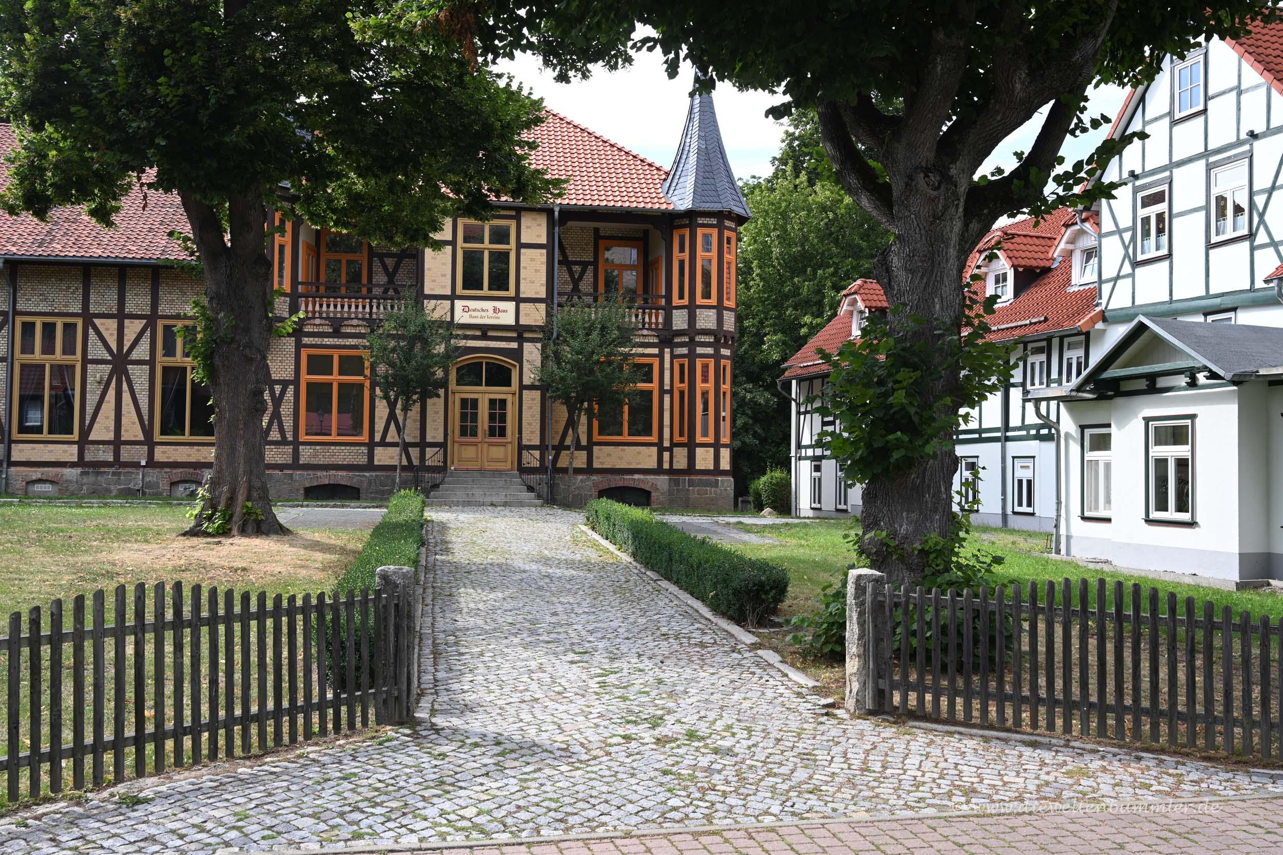 Fachwerk in Ilsenburg