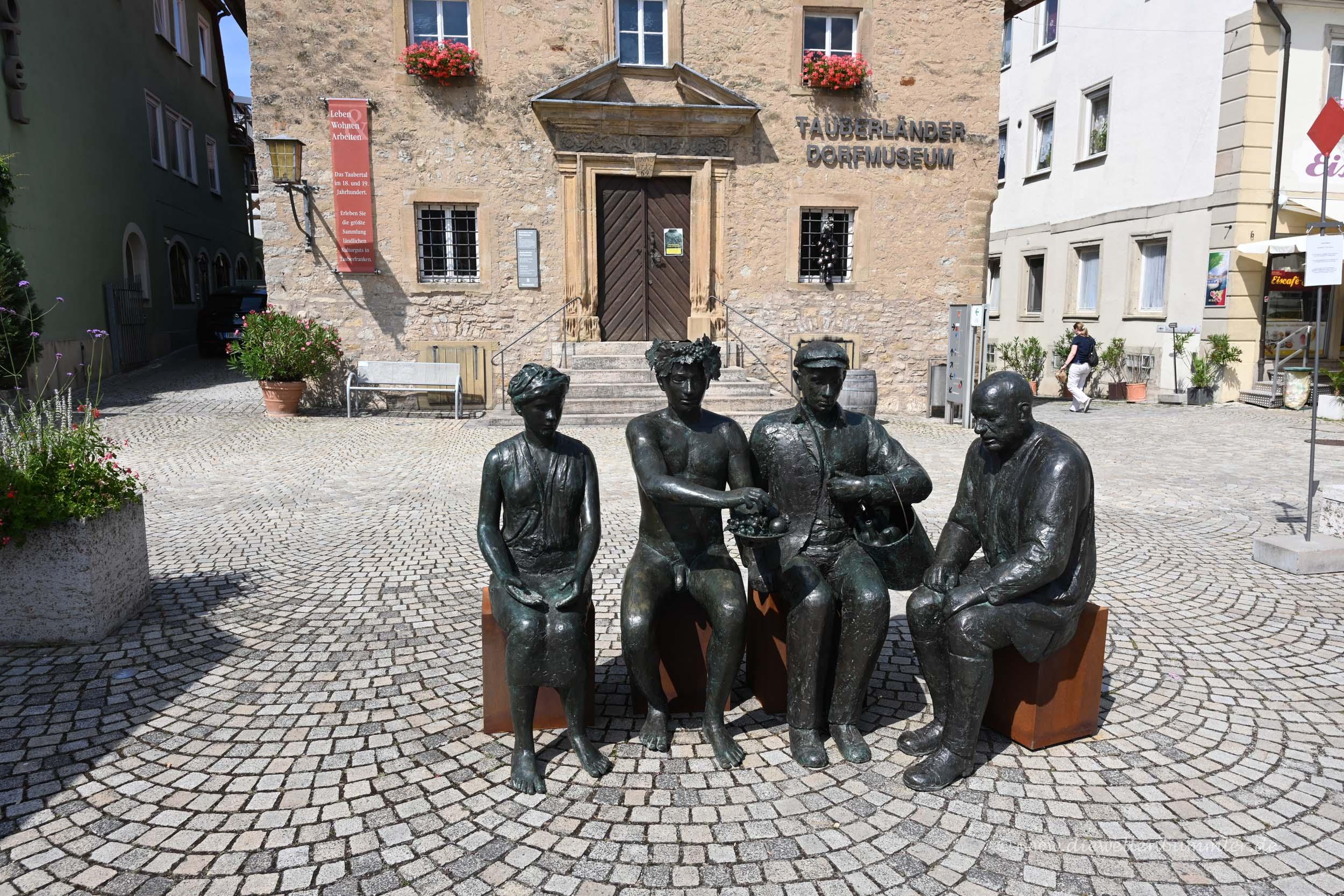 Figuren in Bad Mergentheim