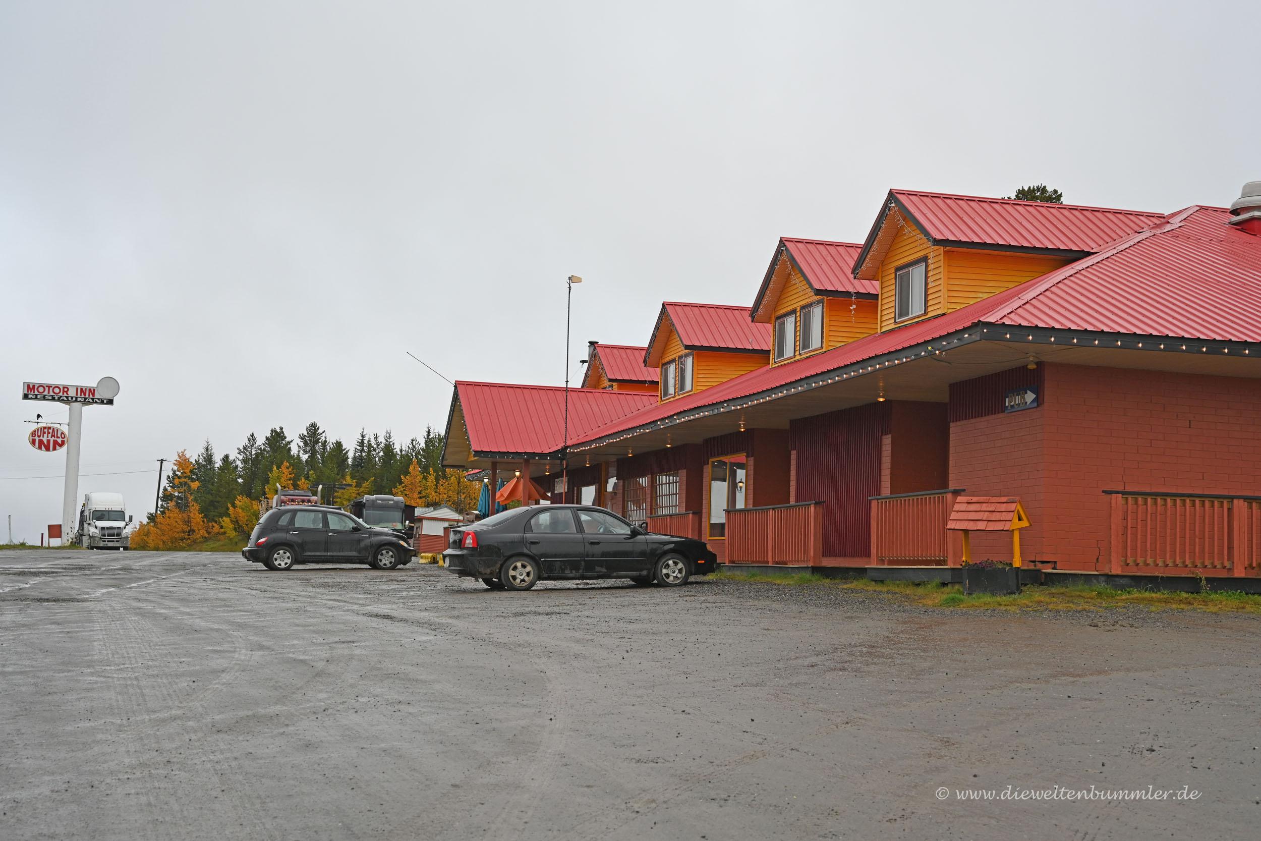 Motel am Alaska Highway