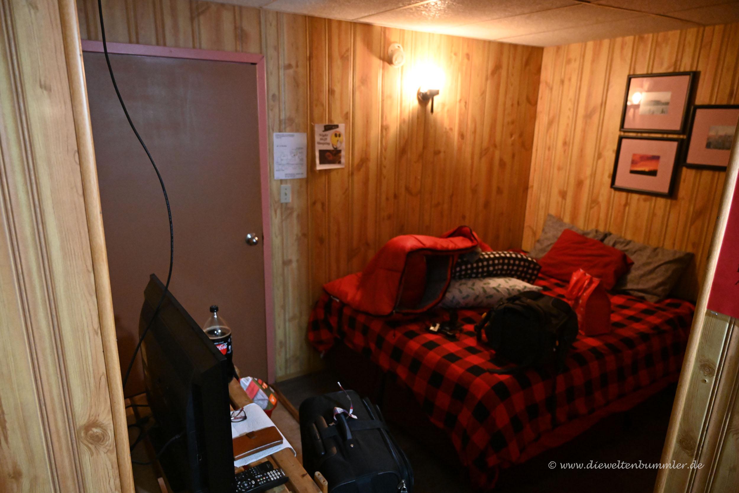 Einfaches Motelzimmer