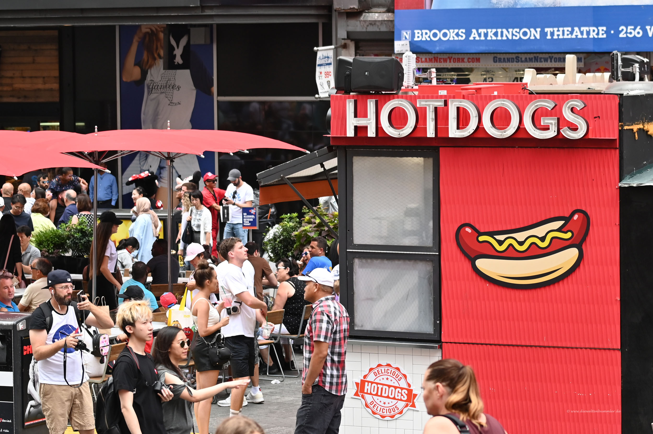 Hot Dogs am Times Square
