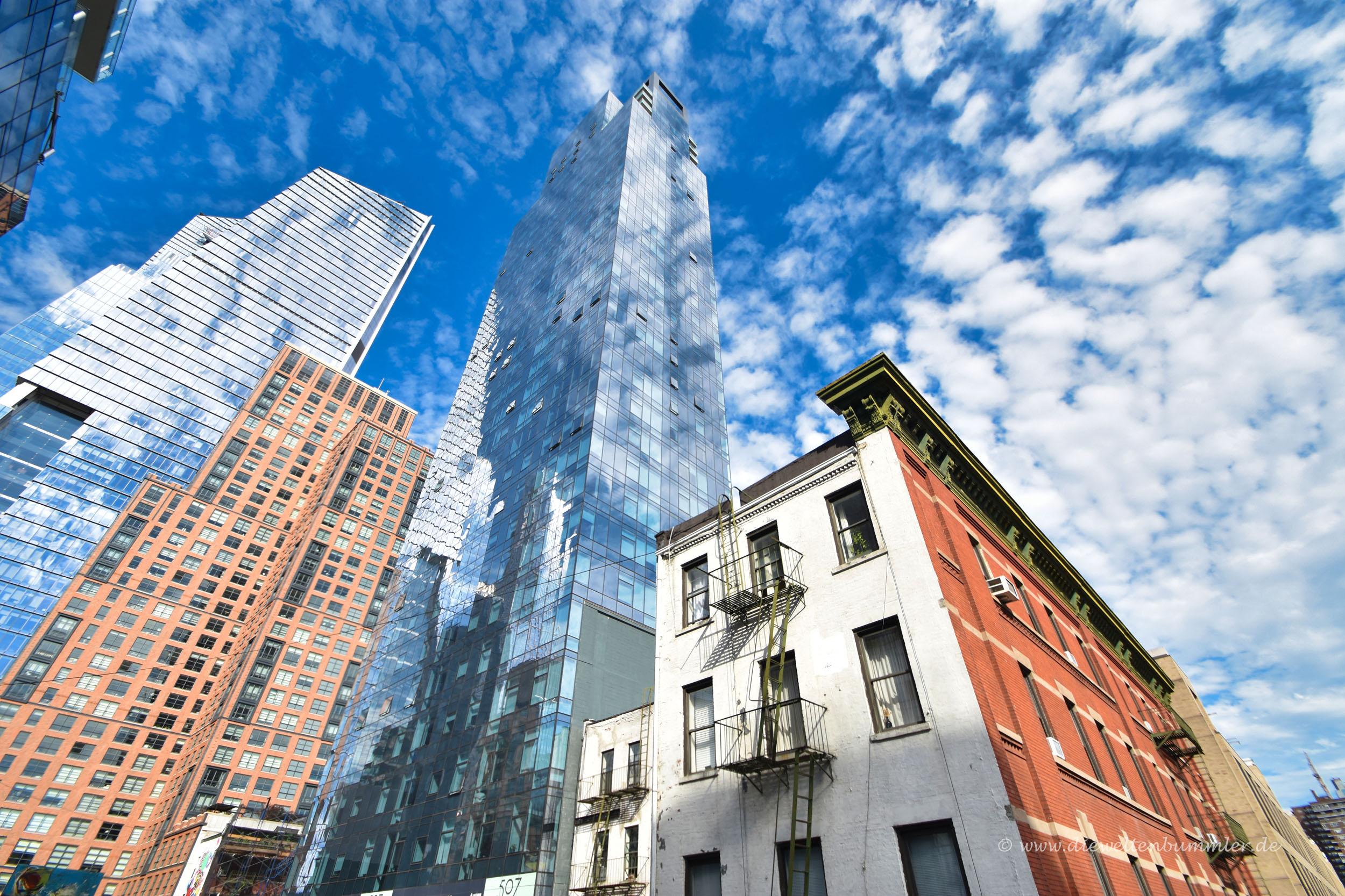 Hochhauskulisse in New York