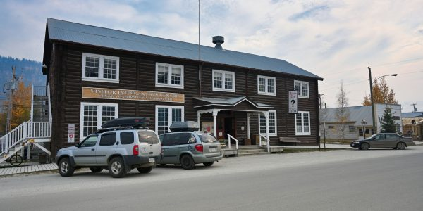 Touristinformation in Dawson City