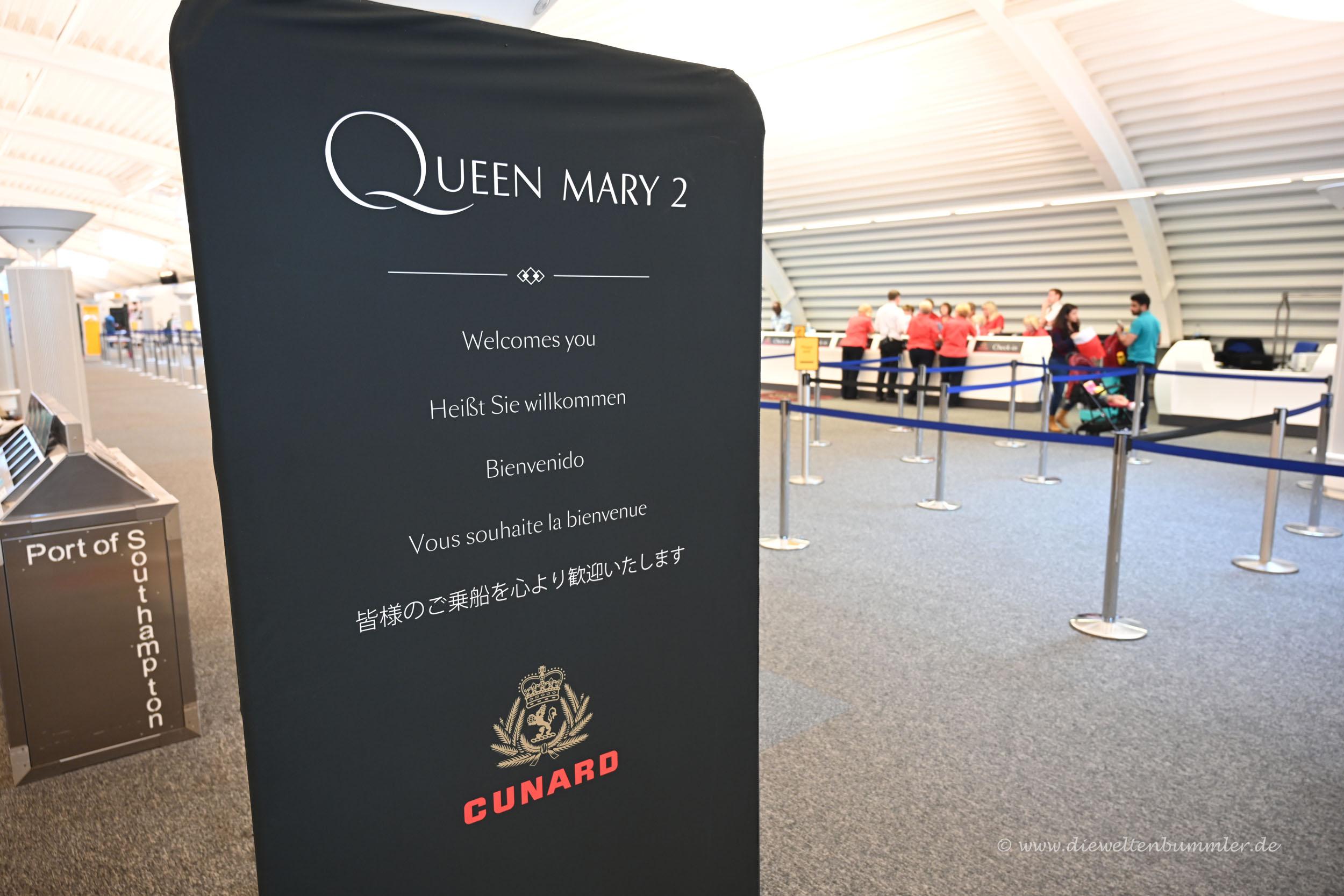 Willkommen bei Cunard
