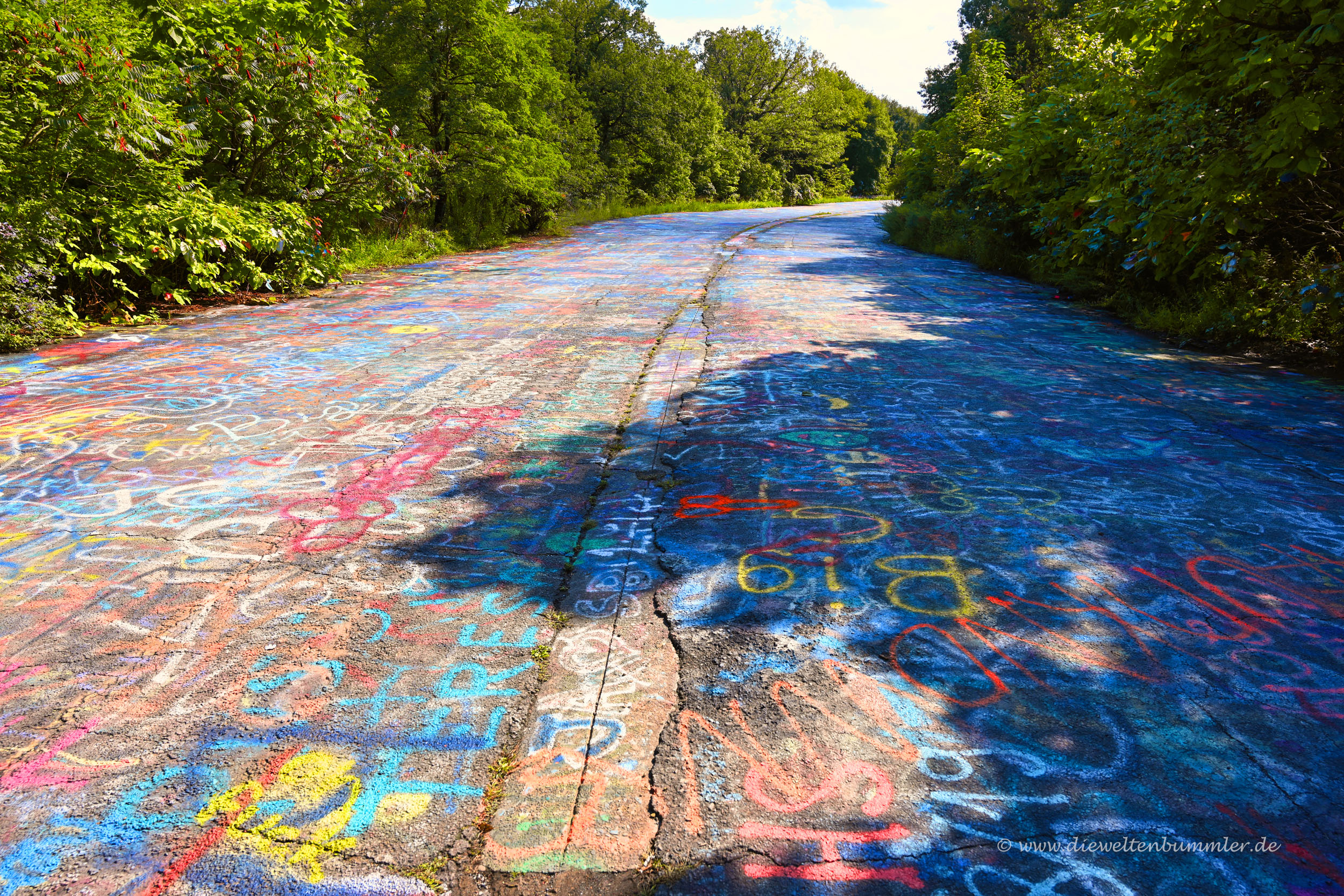 Graffiti-Highway in Centralia