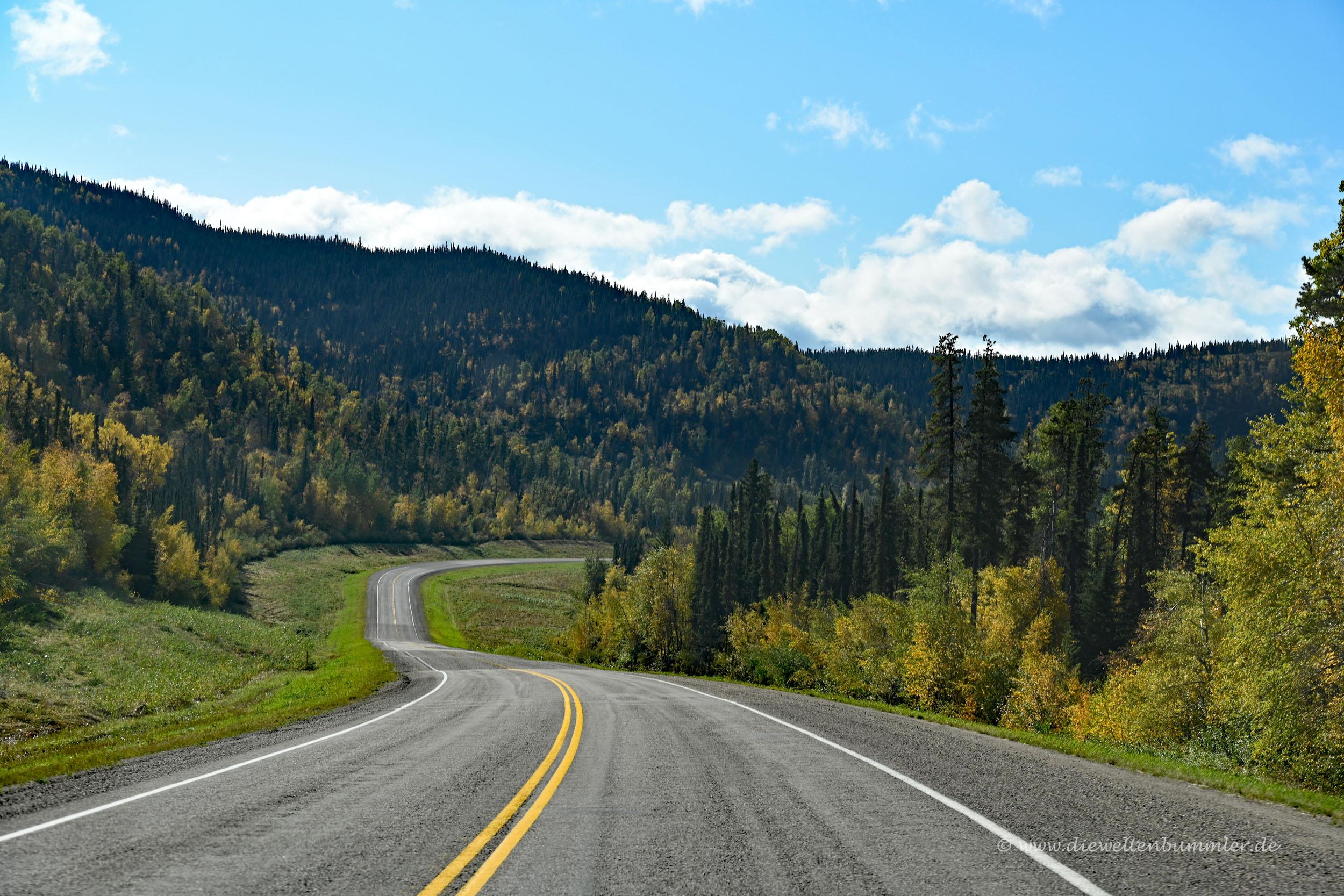 Traumstraße nach Alaska