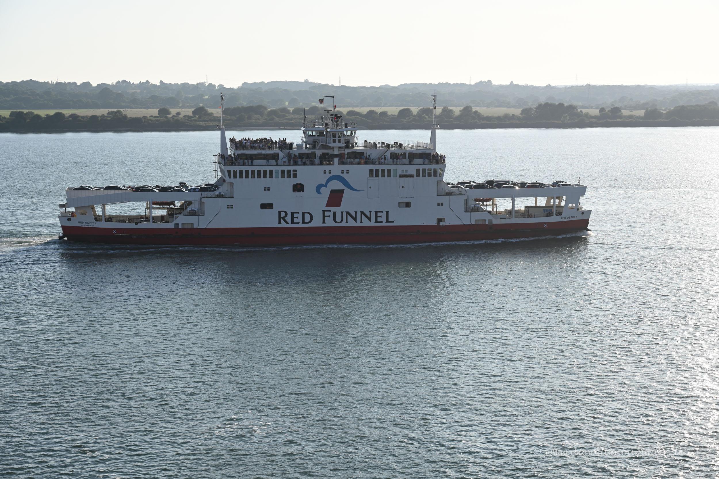 Fähre der Isle of Wight