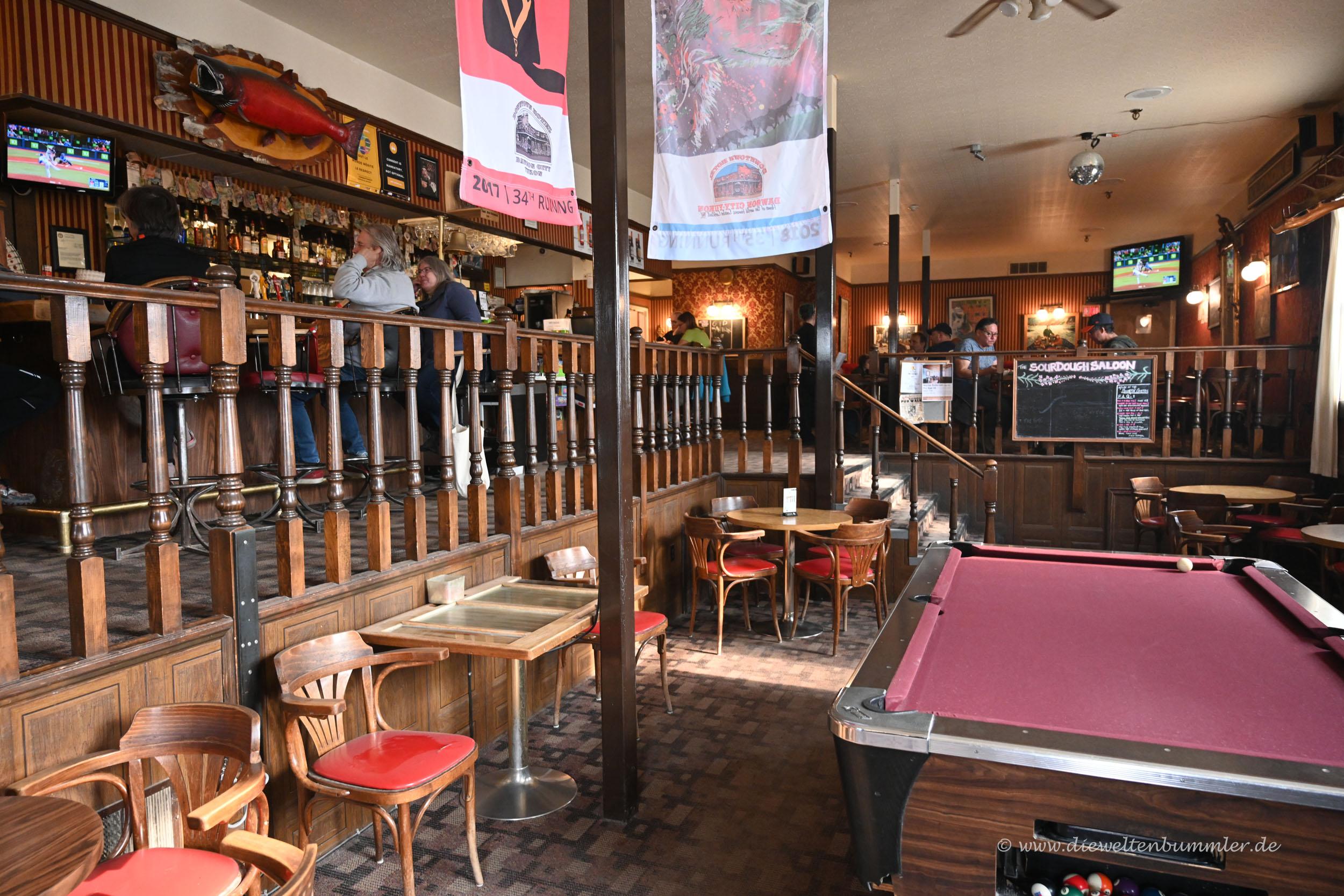 Saloon im Downtownhotel