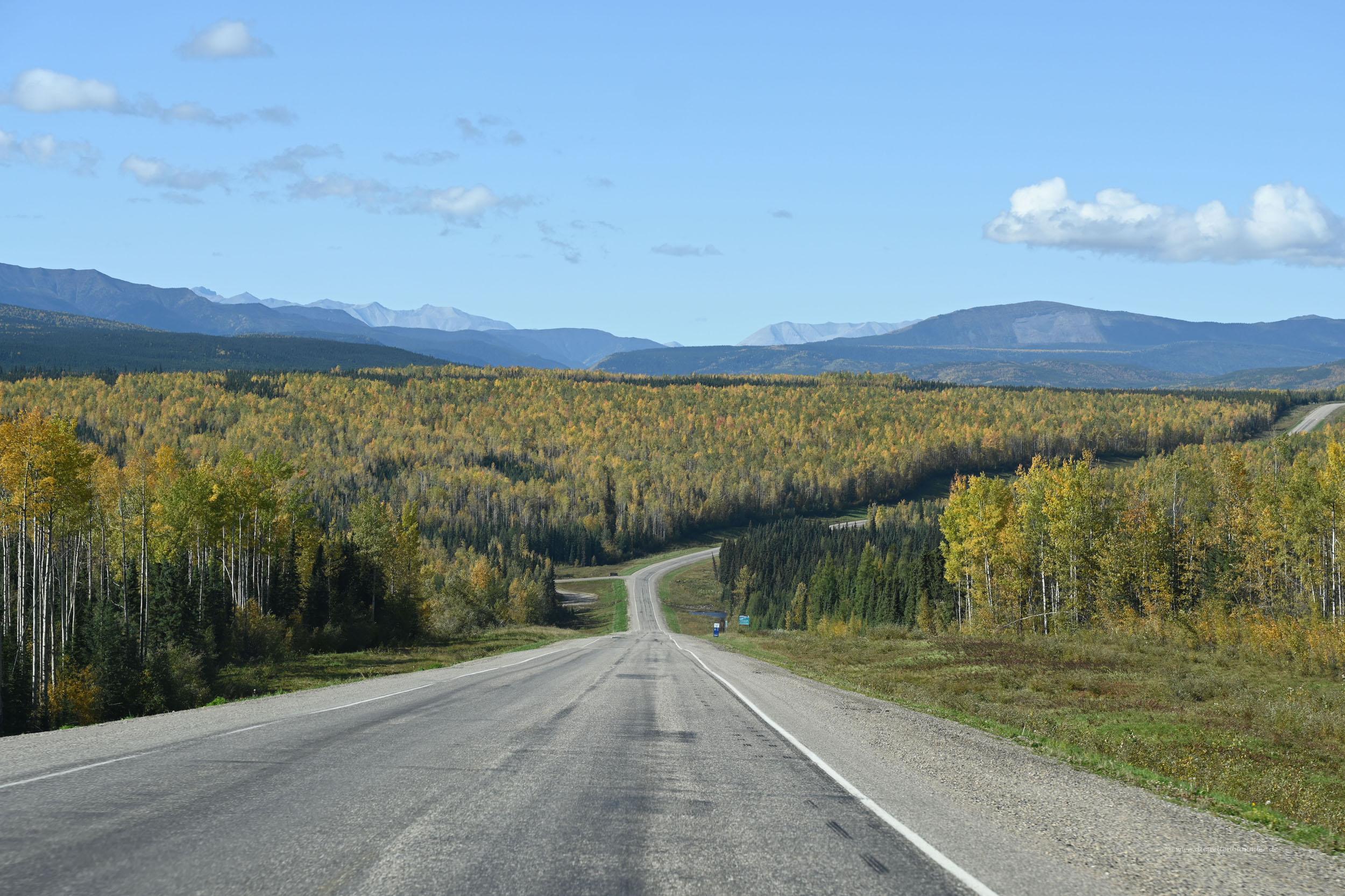 Freie Fahrt zum Yukon