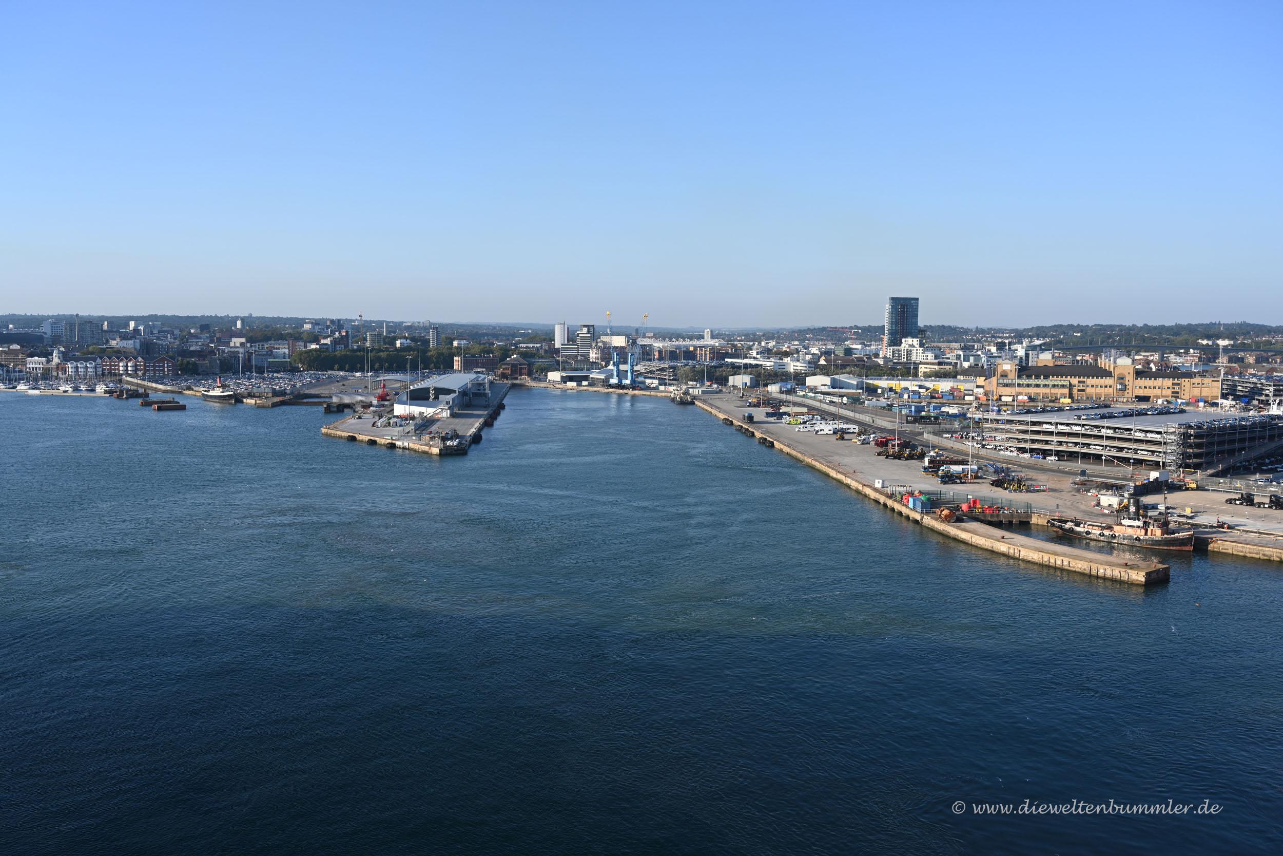 Hafen von Southampton