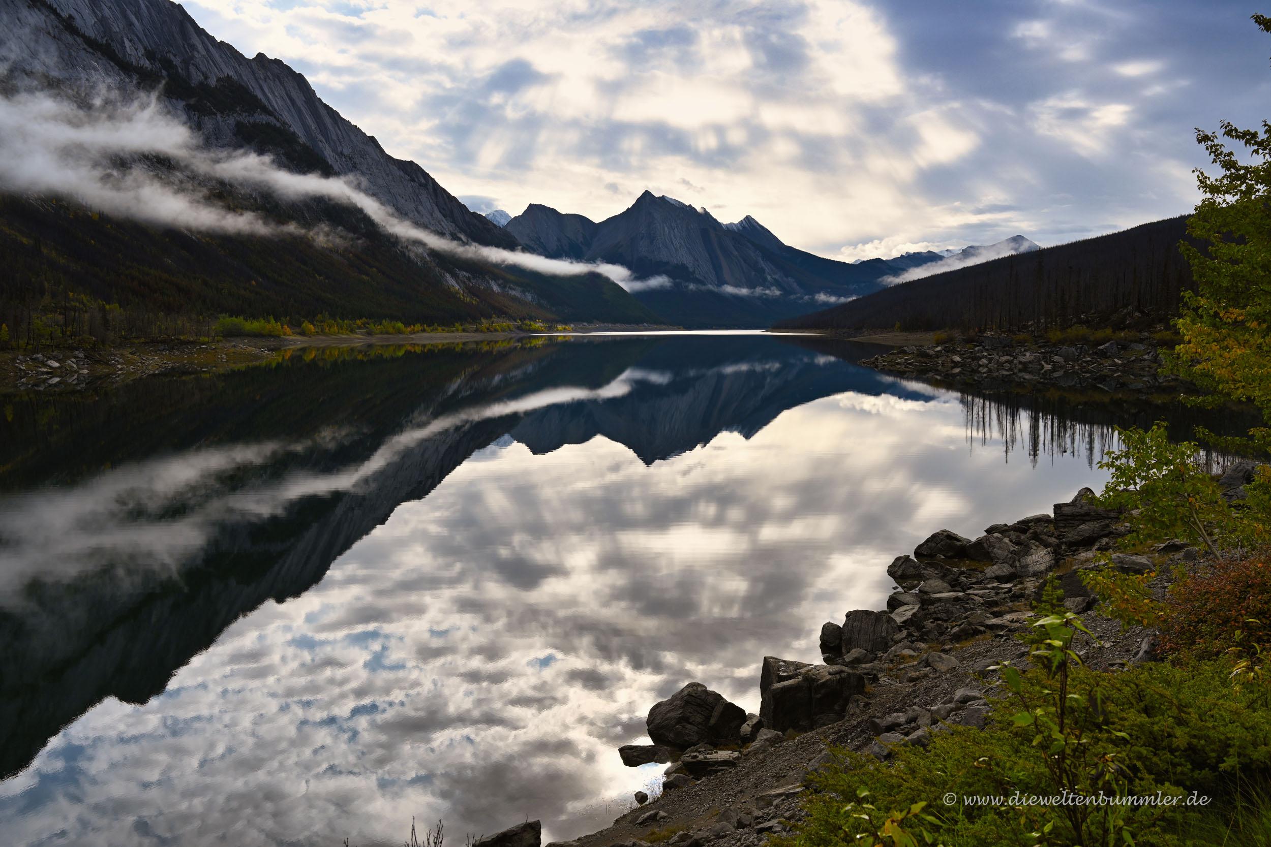 Medicine Lake bei Jasper