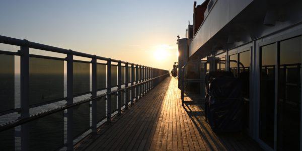 An Bord der Queen Mary 2