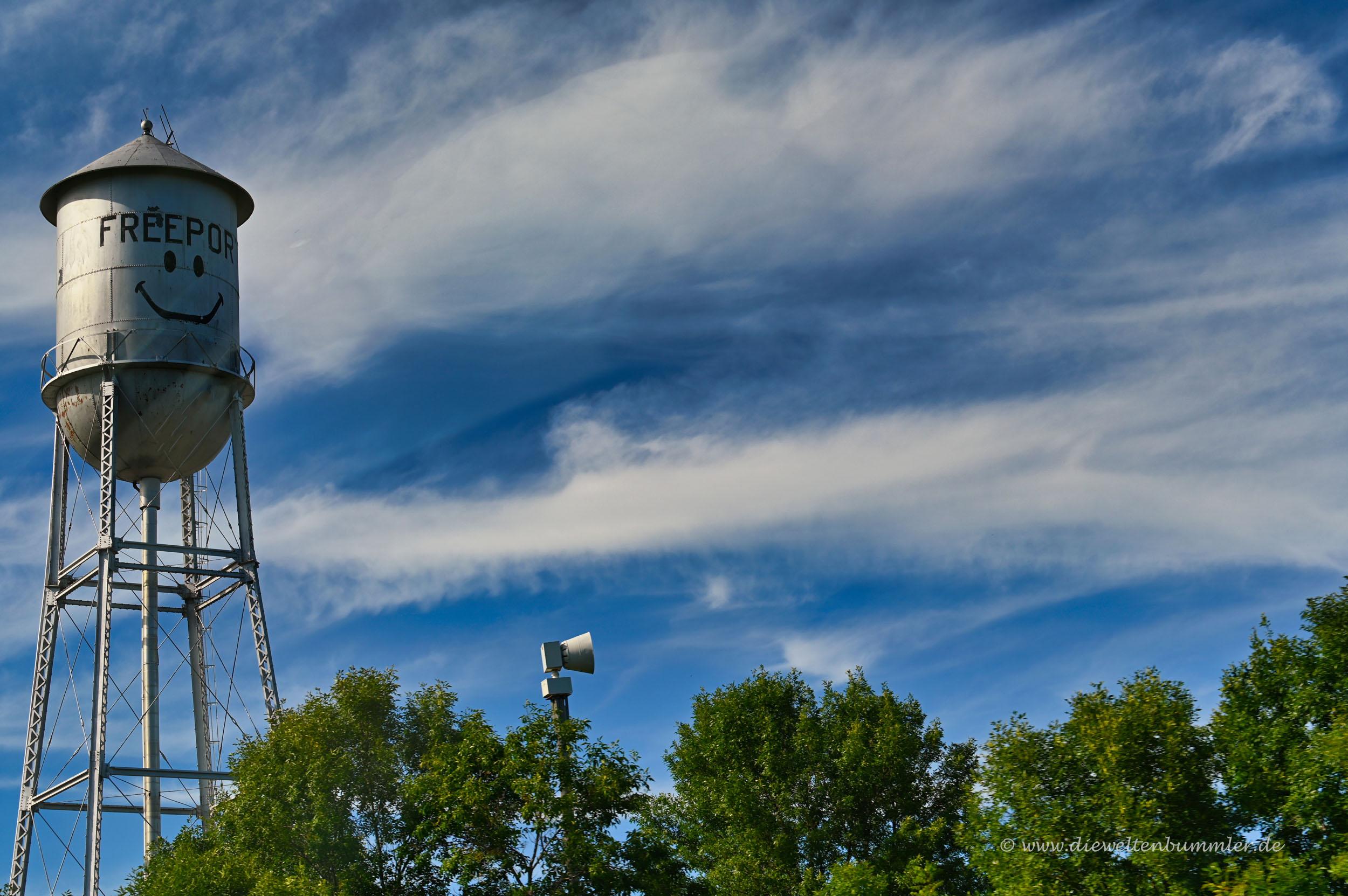 Klassischer Wasserturm der USA