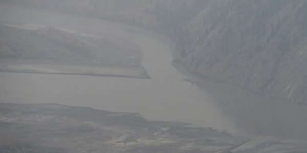 Mündung des Klondike in den Yukon