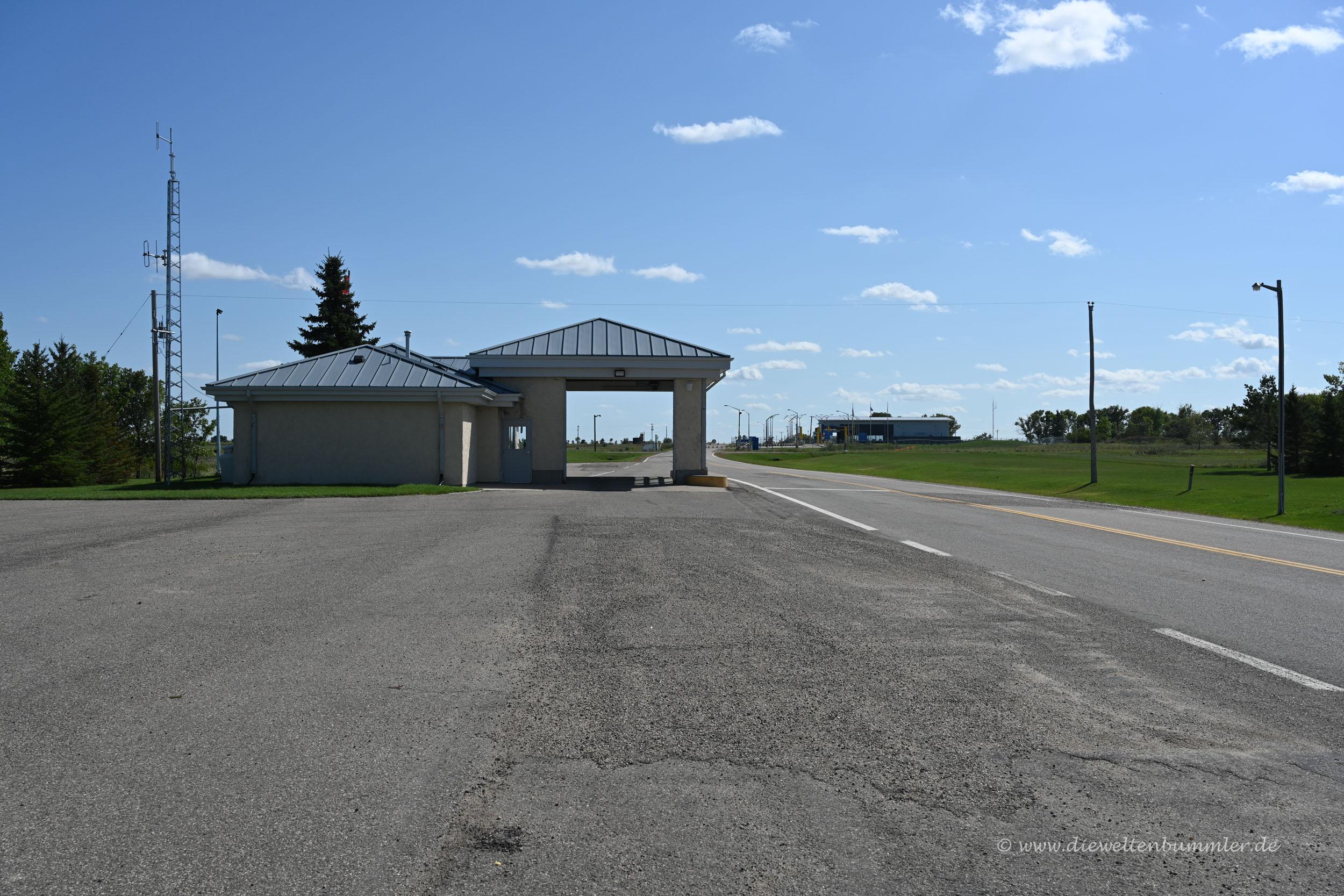 Grenze zwischen USA und Kanada