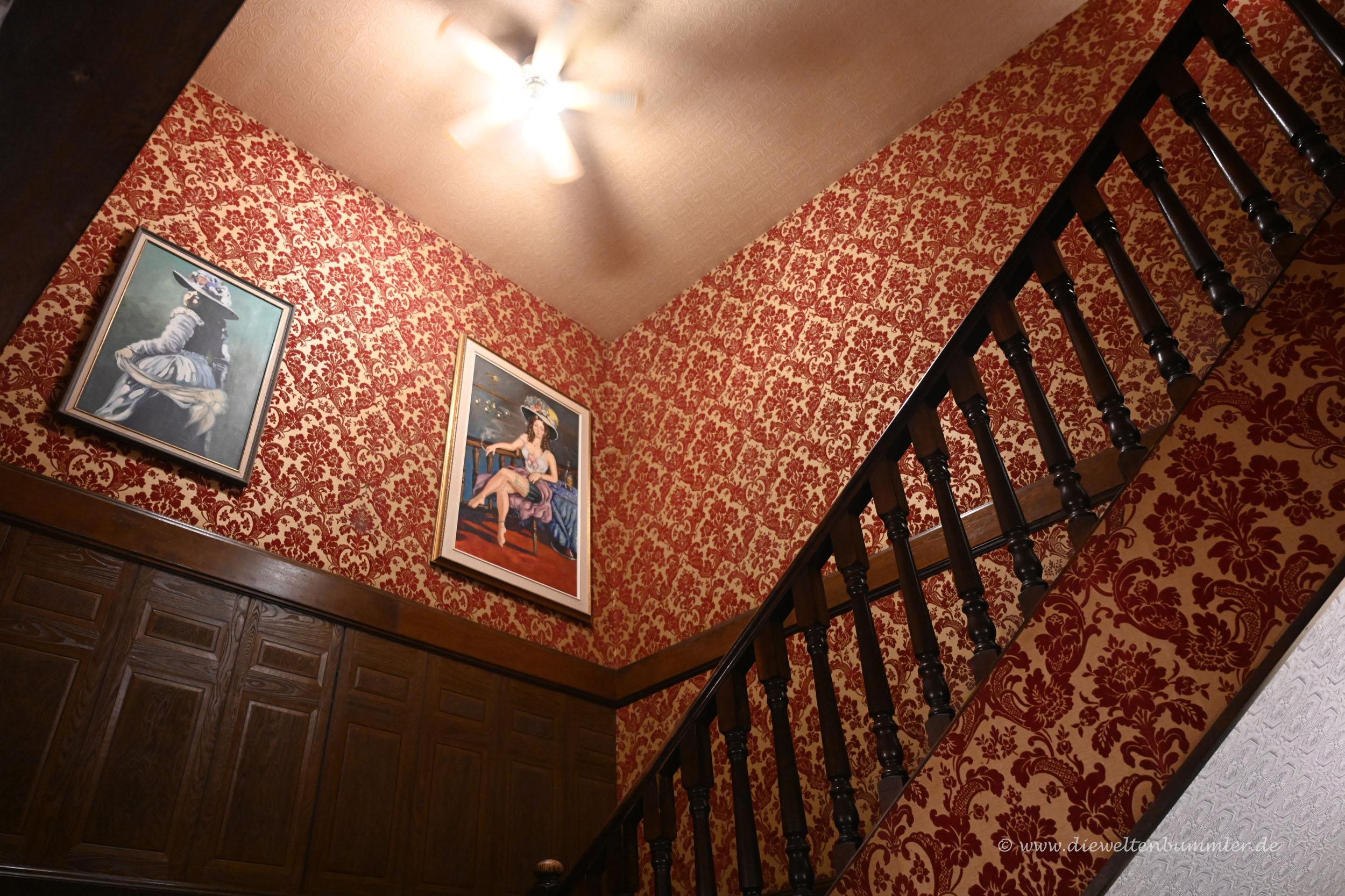 Treppenhaus im Hotel