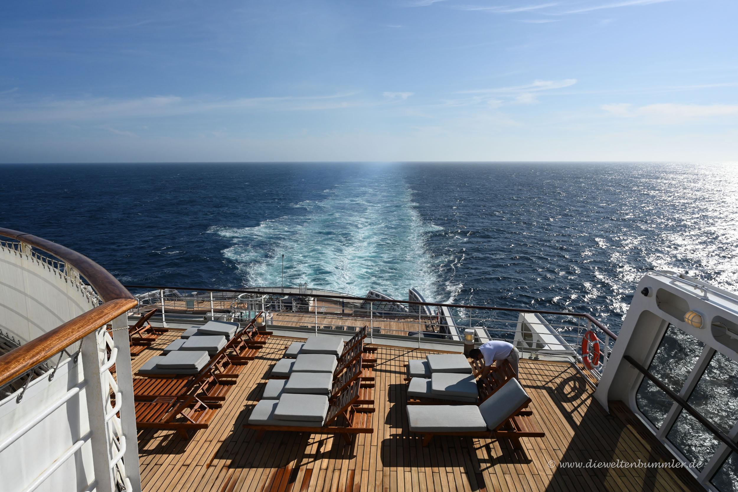 Und wir fahren über den Atlantik