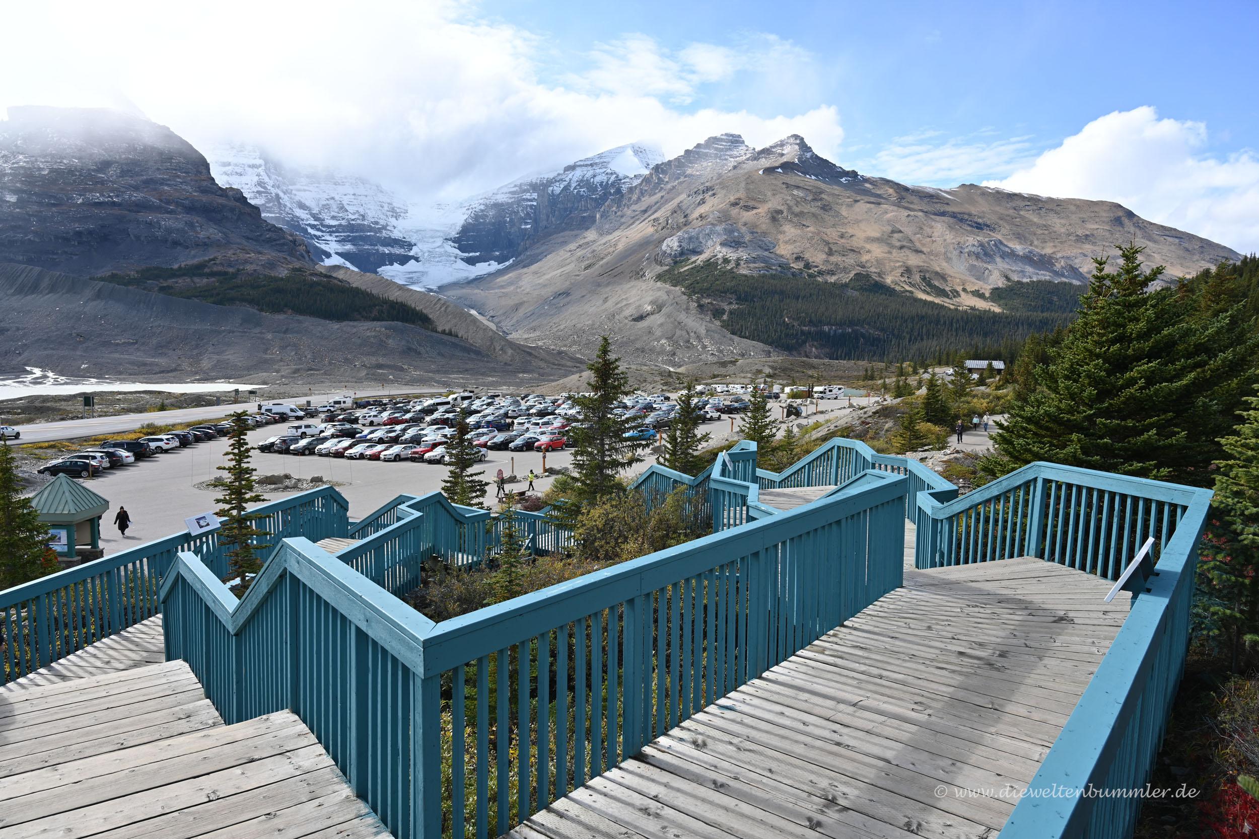 Besucherzentrum am Icefield Parkway