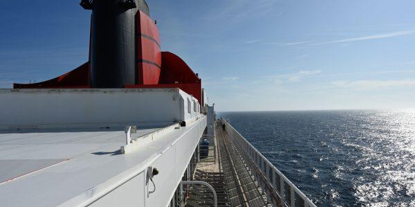 Entspannte Atlantiküberquerung