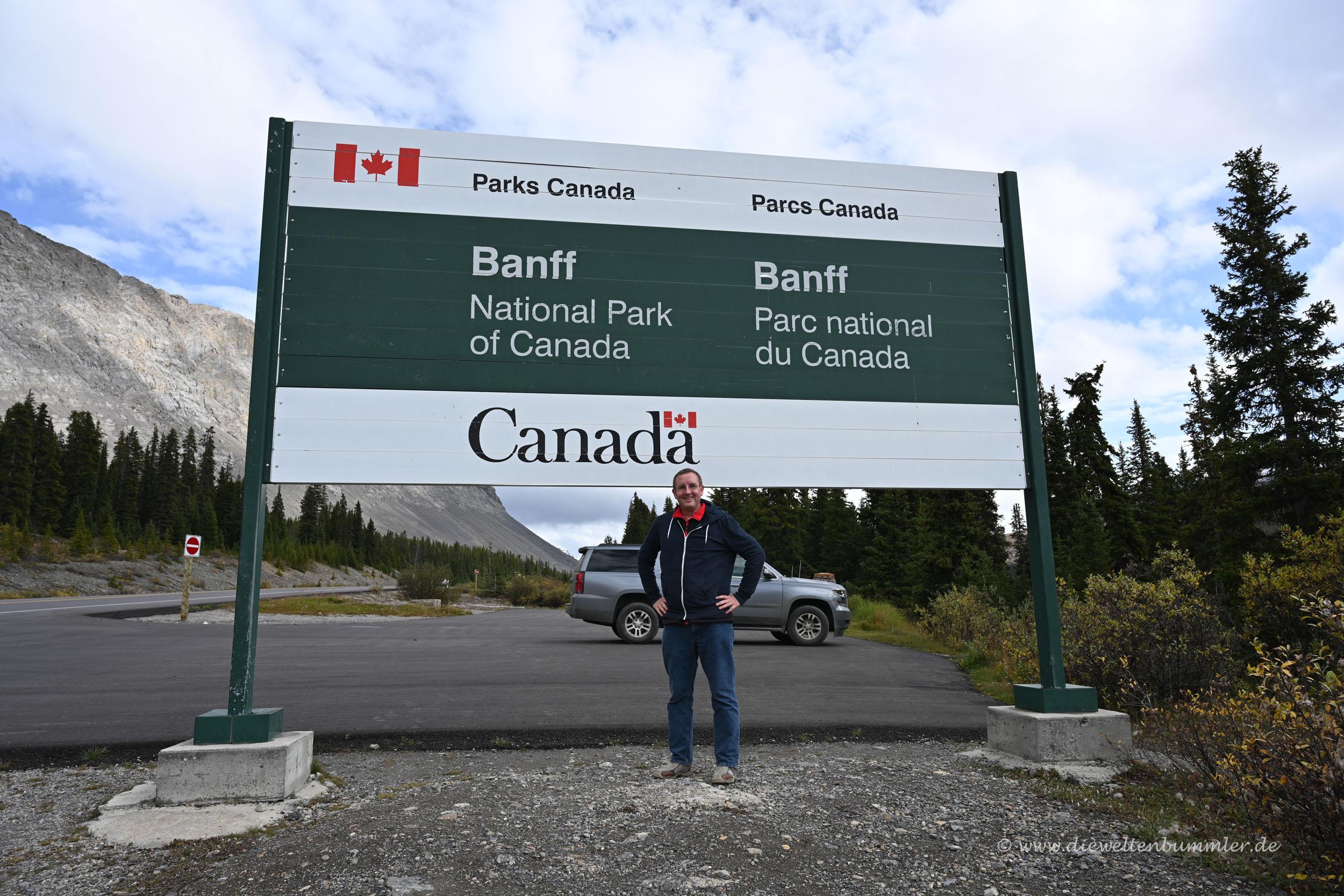Willkommen im Banff Nationalpark