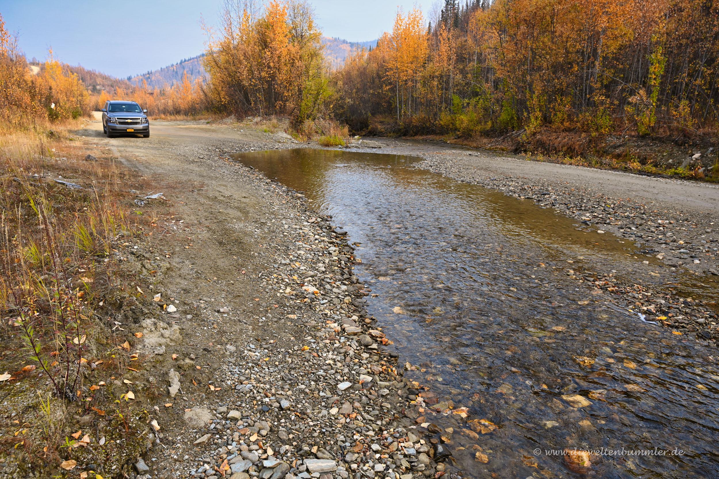 Am Bonanza Creek ist Ende