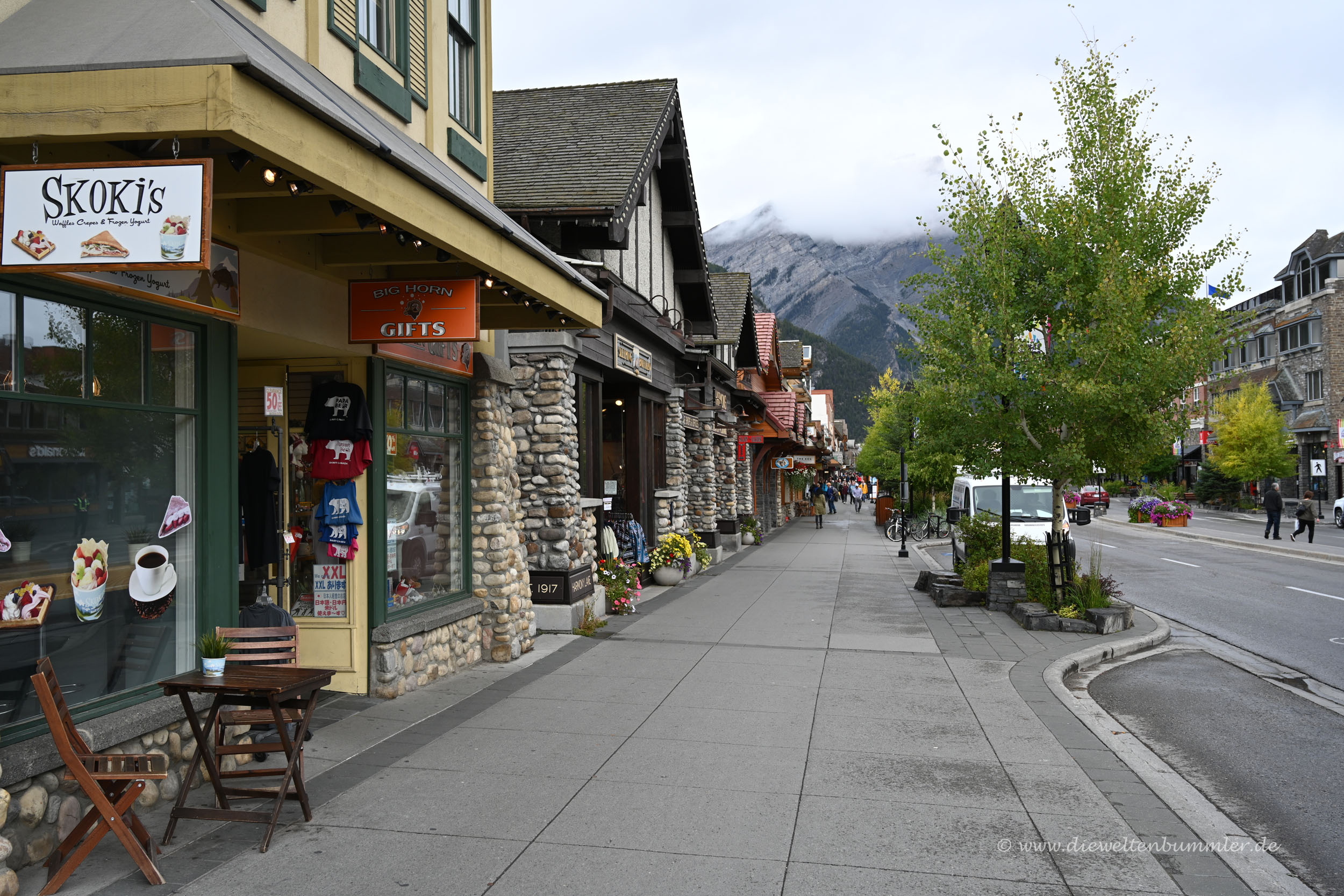 Touristenort Banff