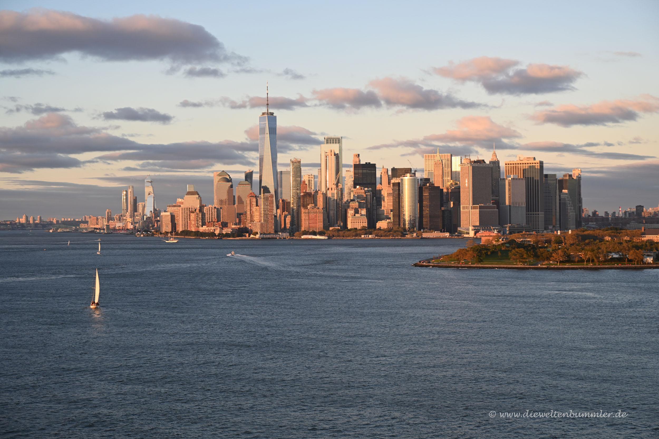 Manhattan vom Schiff aus