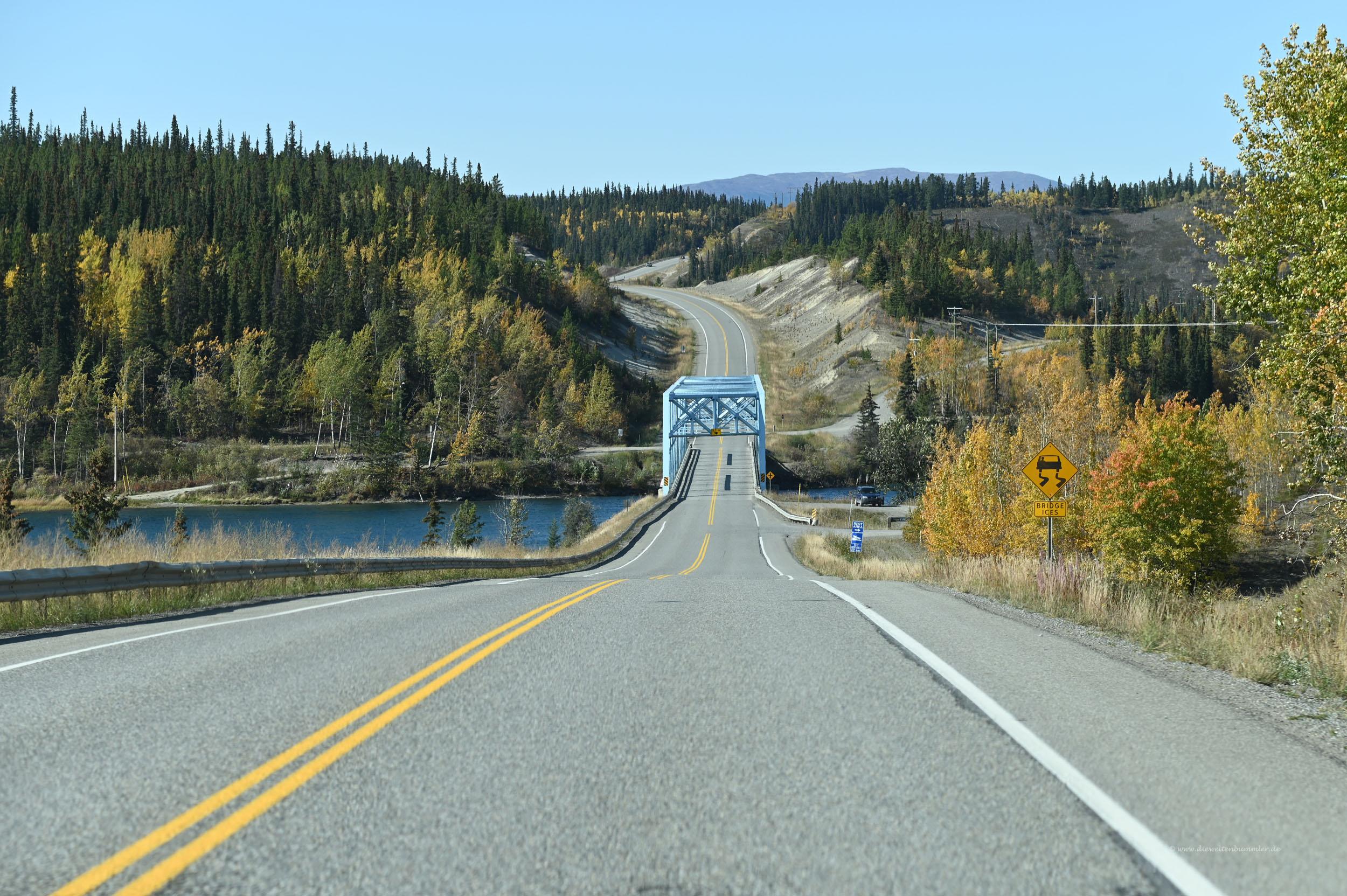 Überquerung des Yukon