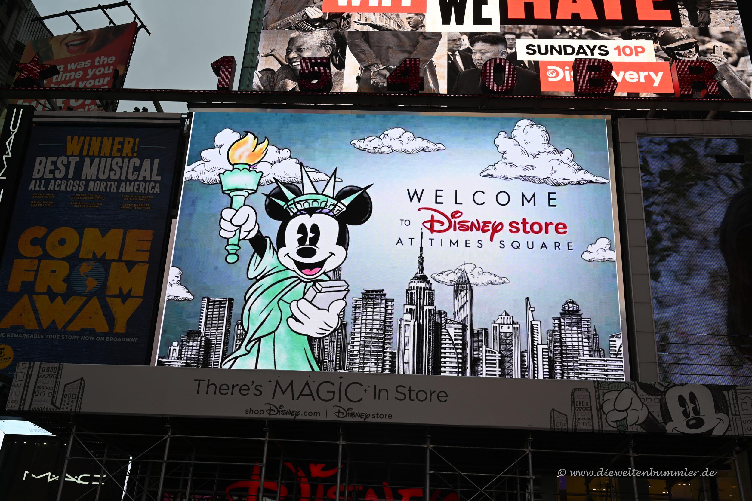 Disney Store am Times Square