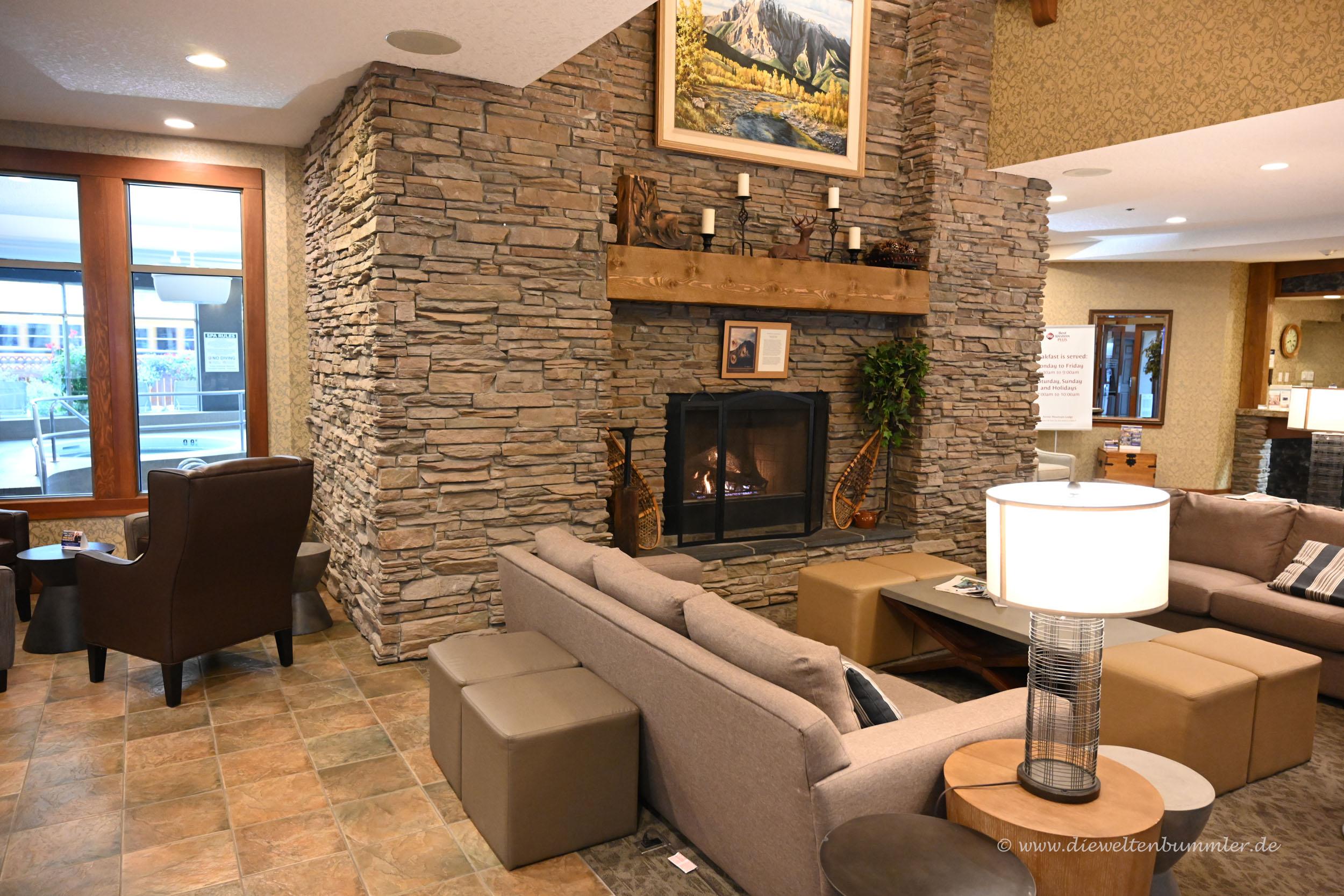 Lobby einer Lodge