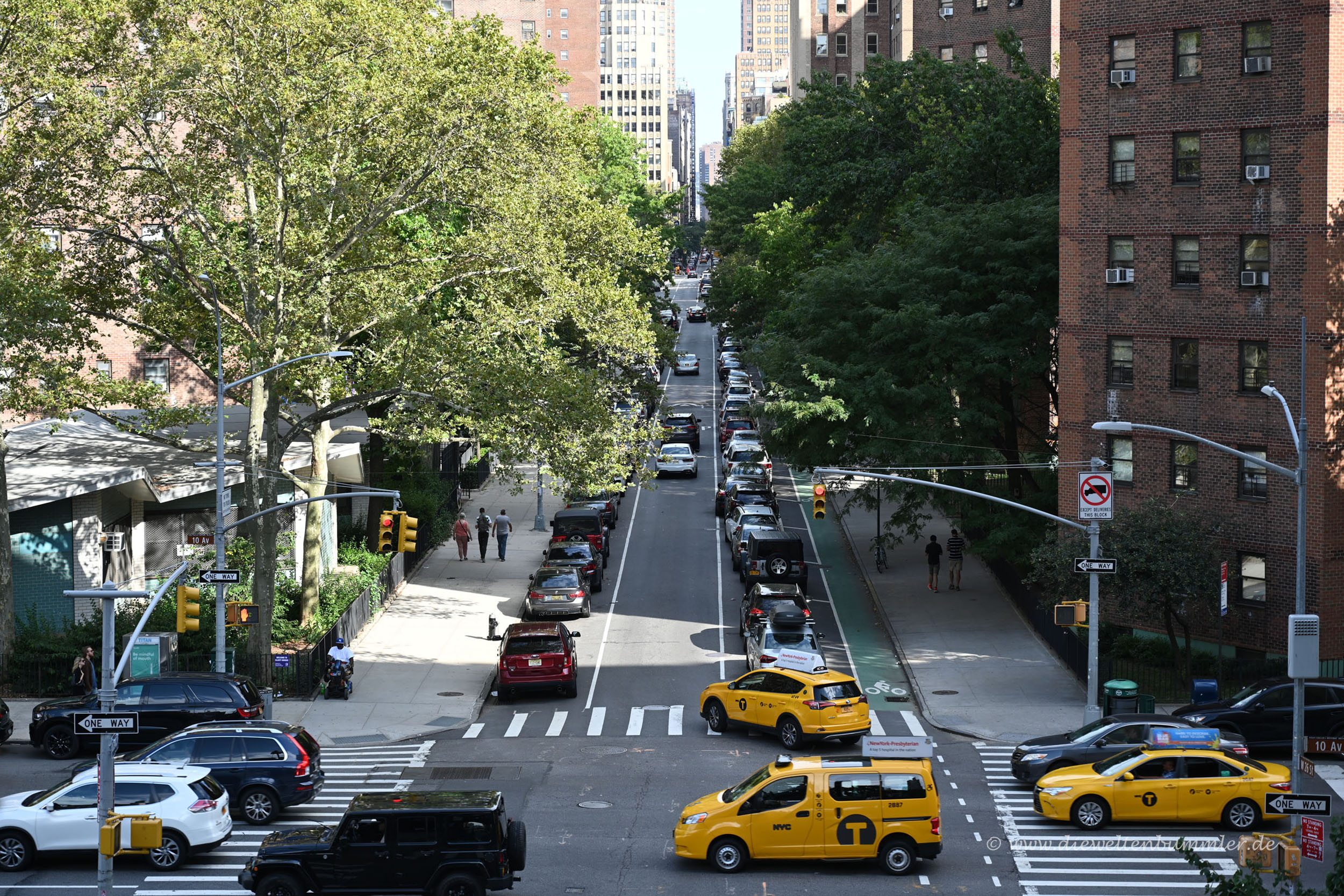 Straße in New York