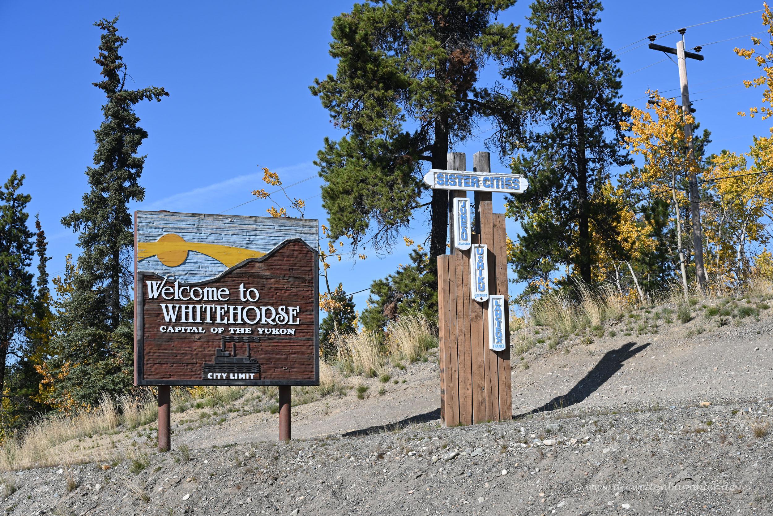 Willkommen in Whitehorse