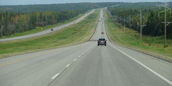 Entspanntes Fahren in Kanada