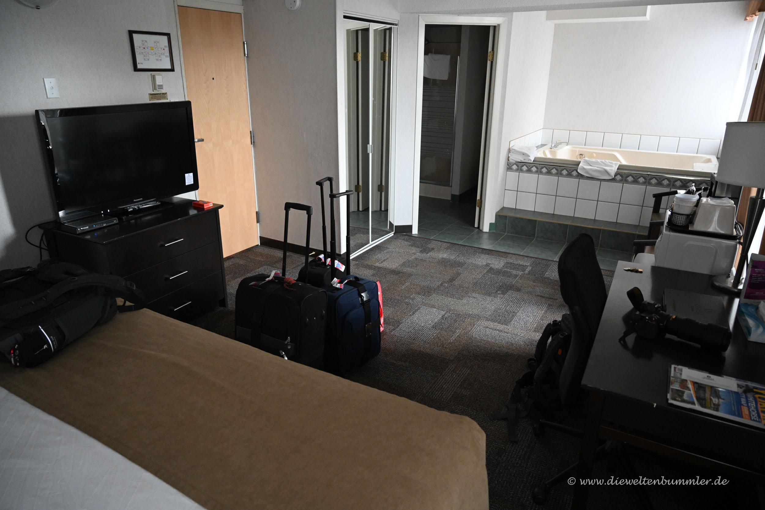 Hotelzimmer in Whitehorse