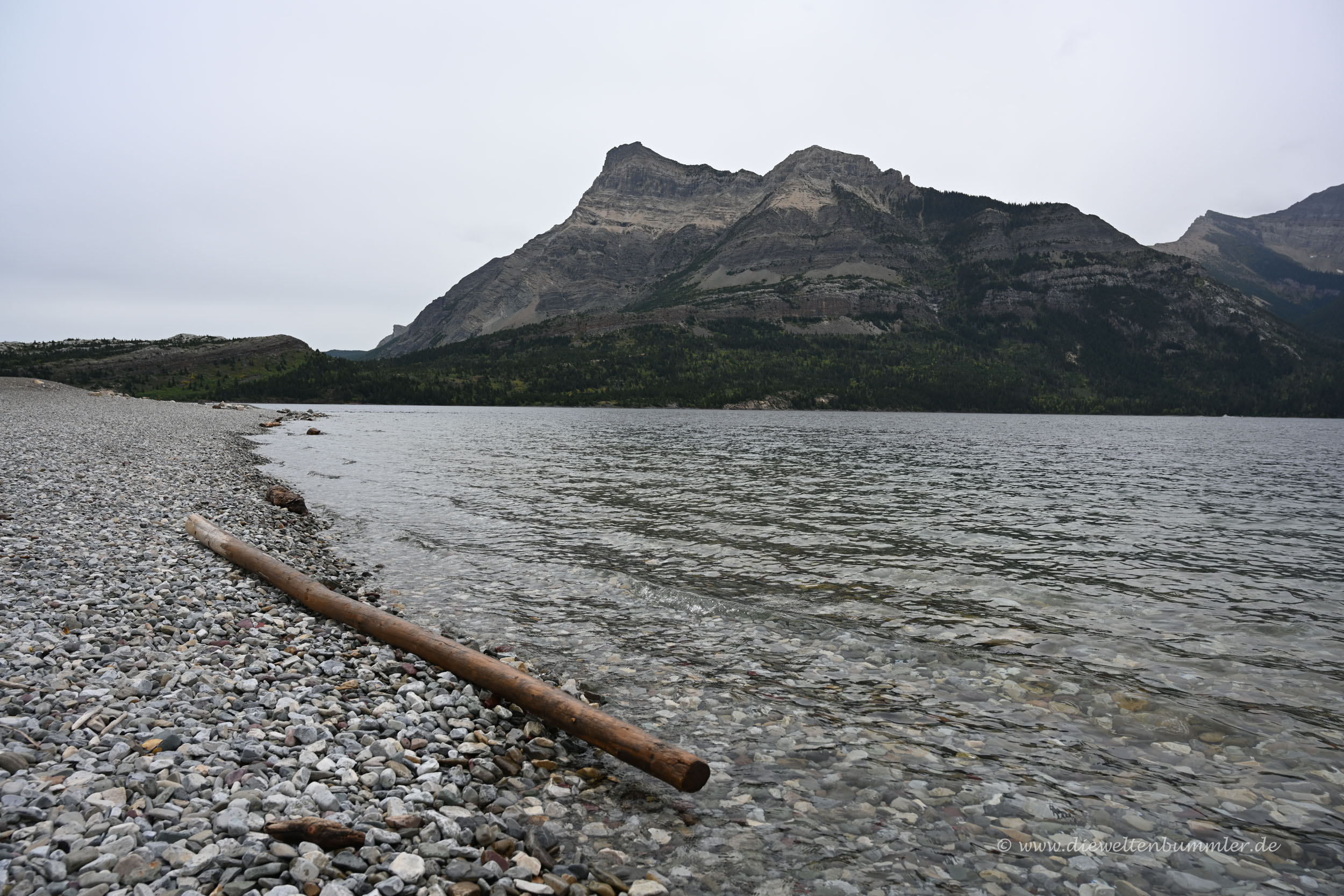See im Waterton Lakes Nationalpark