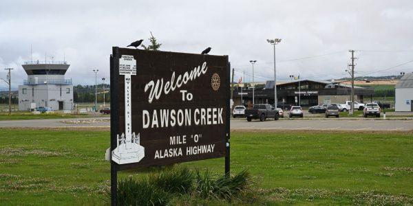 Willkommen in Dawson Creek